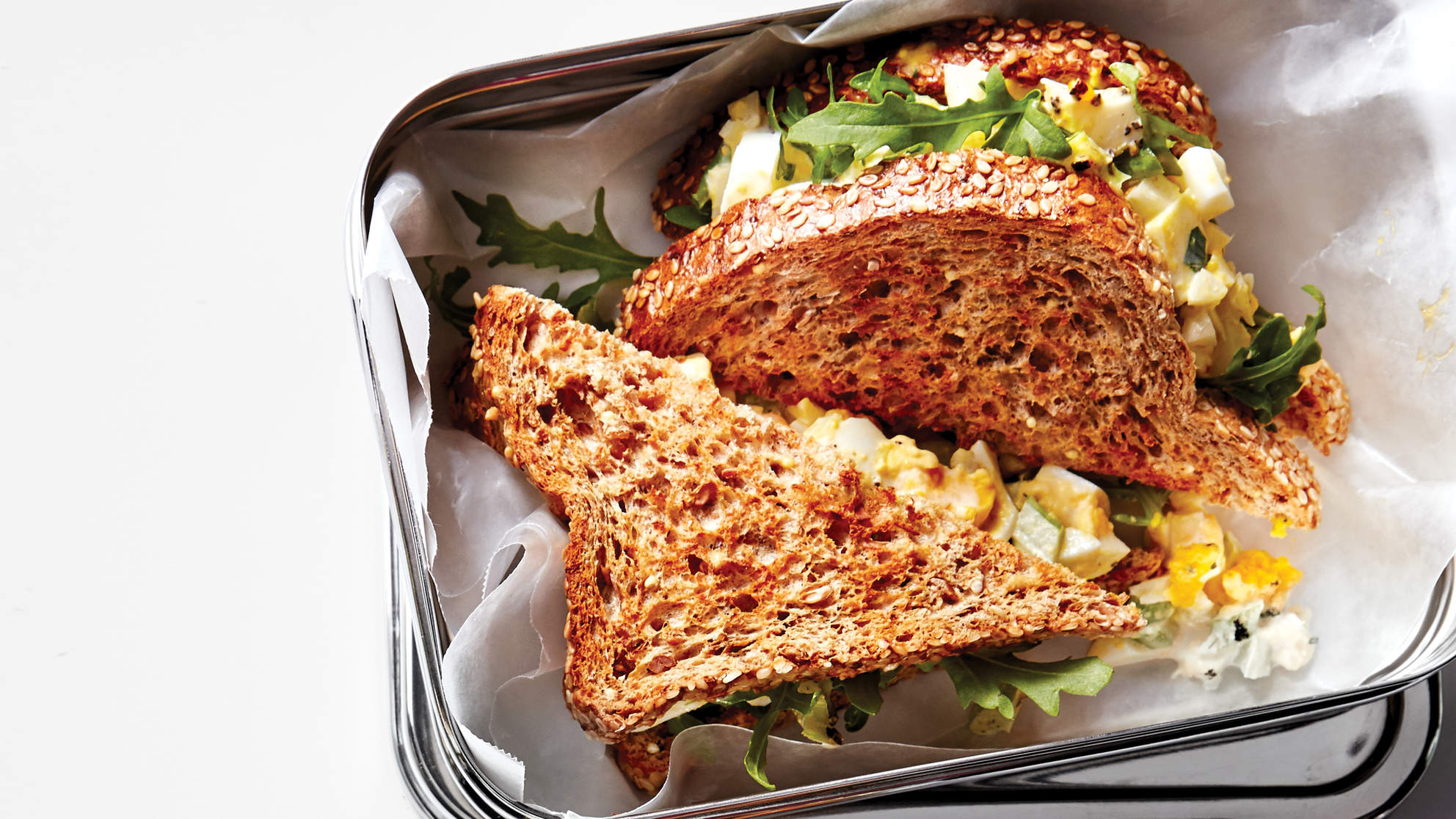Grown-Up Egg Salad Sandwich