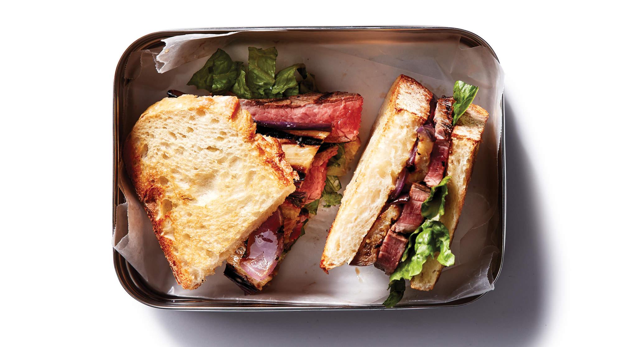 Sourdough Steak Sandwich