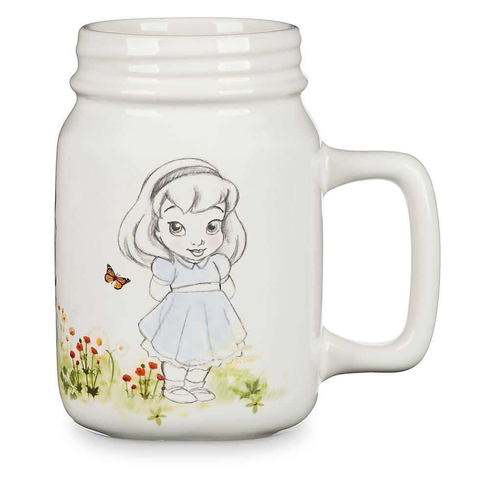 Disney Animators' Collection Mason Jar Mug