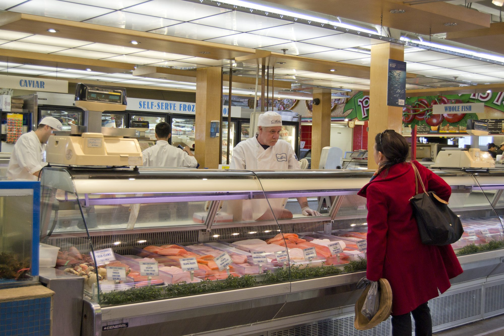 seafood counter getty image