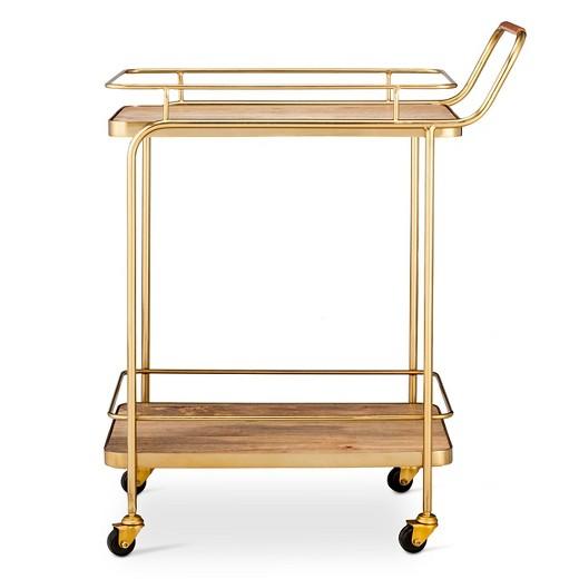 <p>Gold Bar Cart</p>