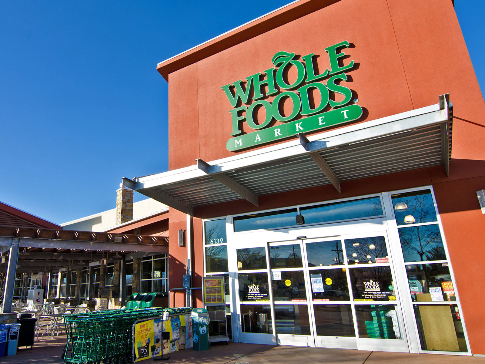 whole foods exterior shot
