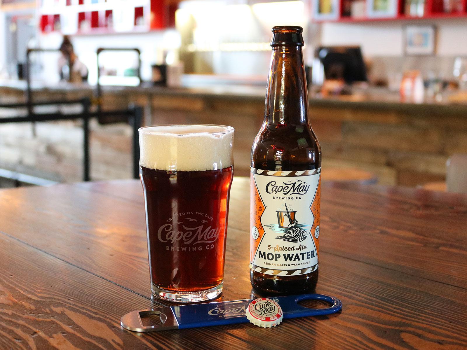 cape may mop water beer