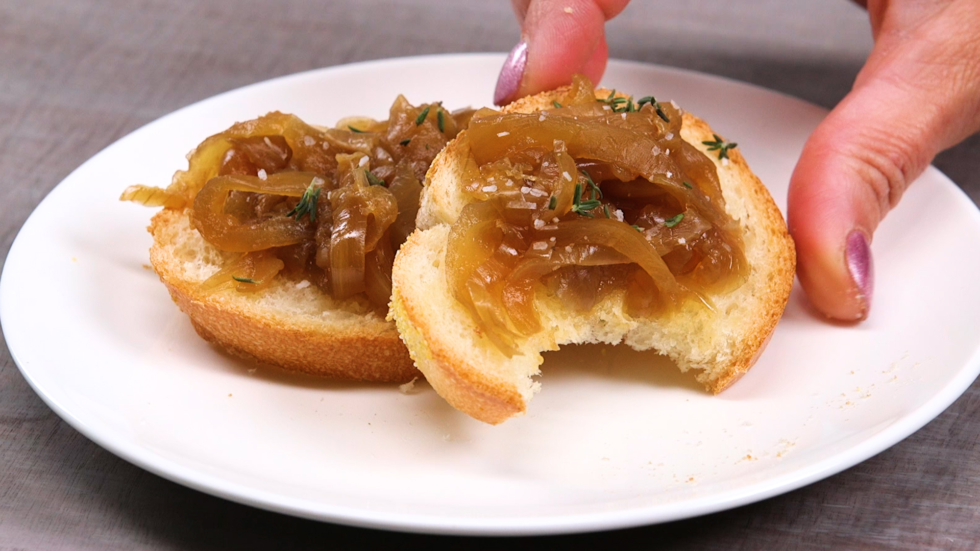 One-Ingredient Slow Cooker Caramelized Onions image