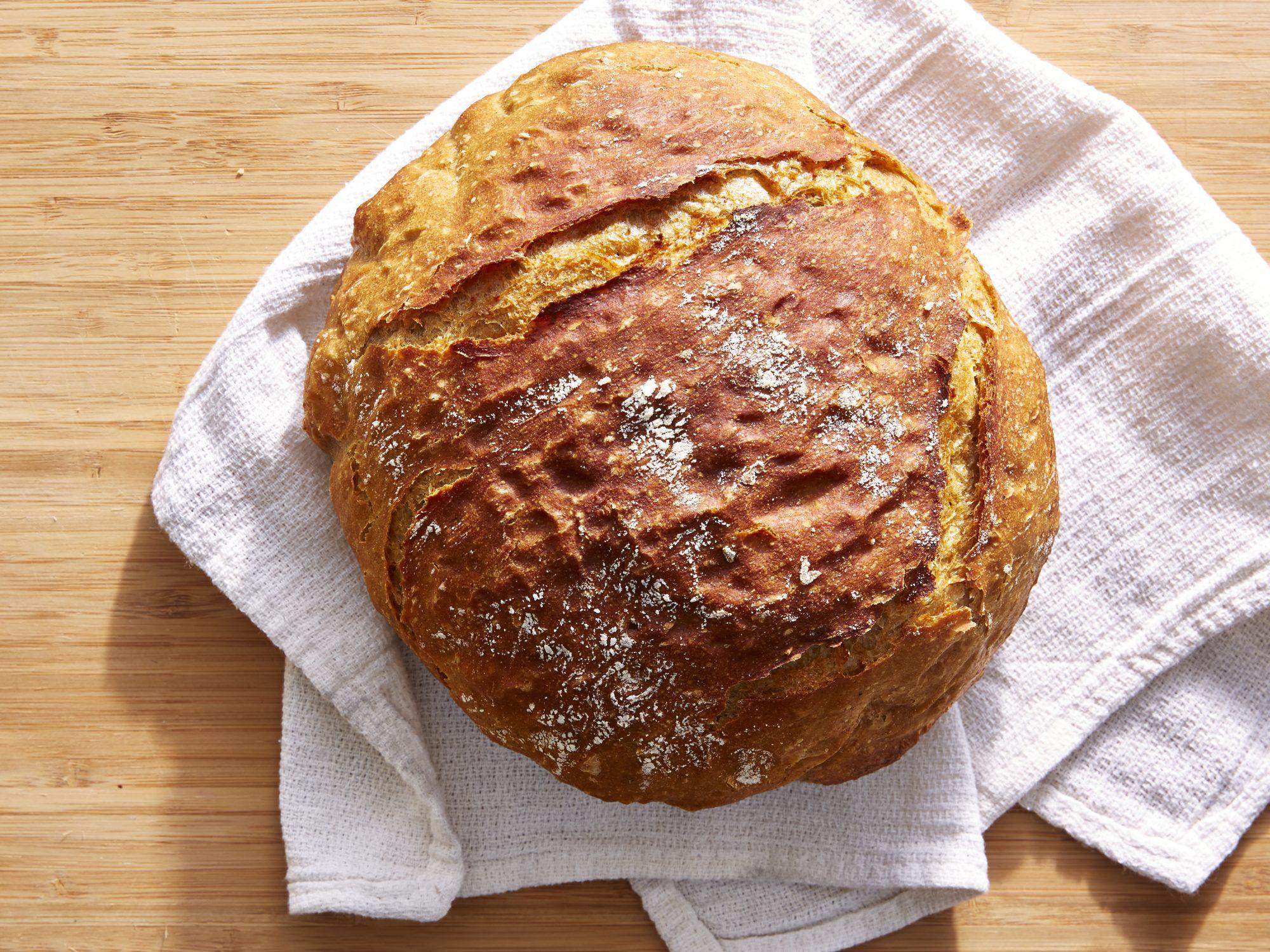 No-Knead Lightly Rye Bread image