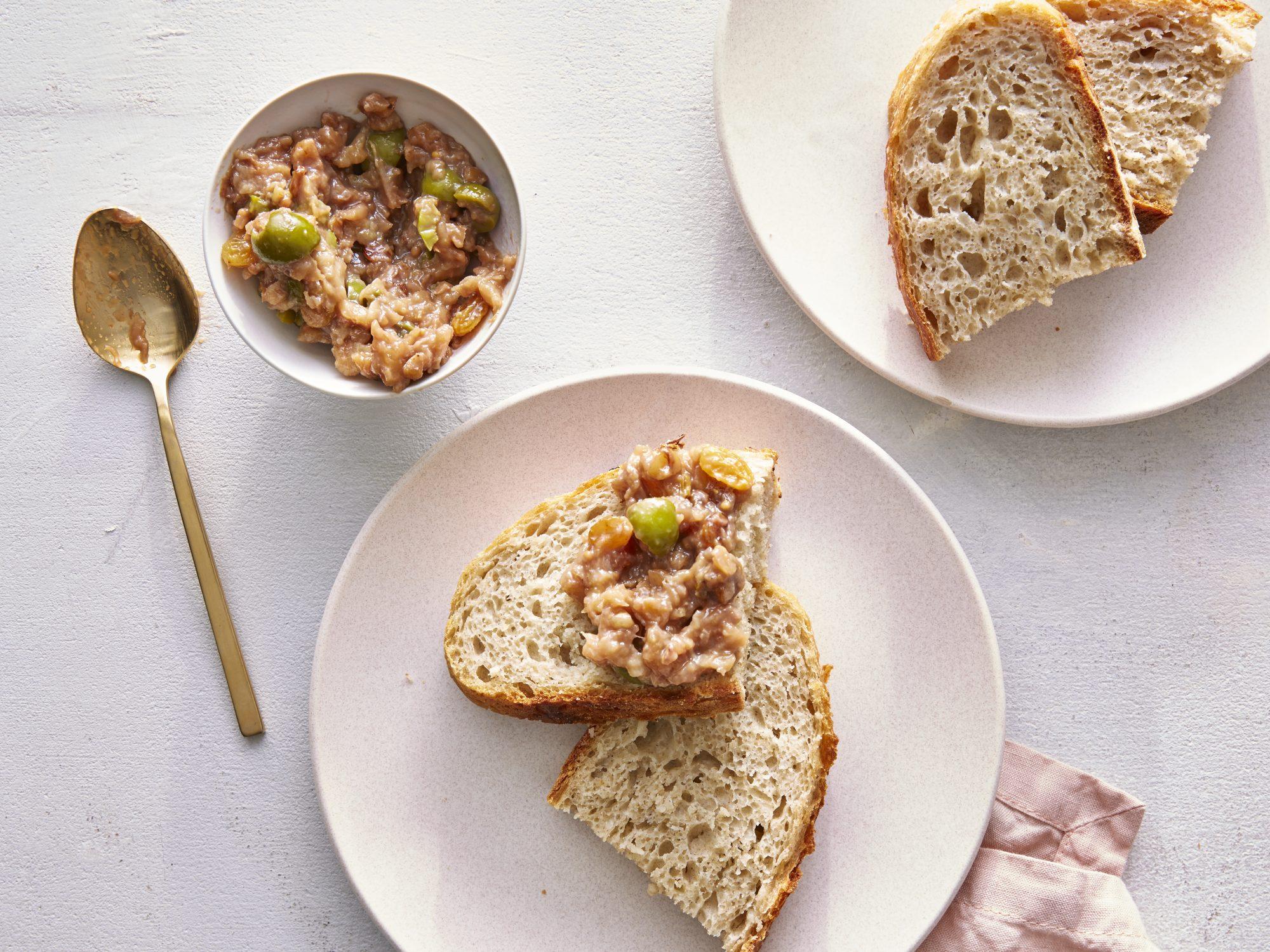 Pear, Olive, and Walnut Chunky Chutney image
