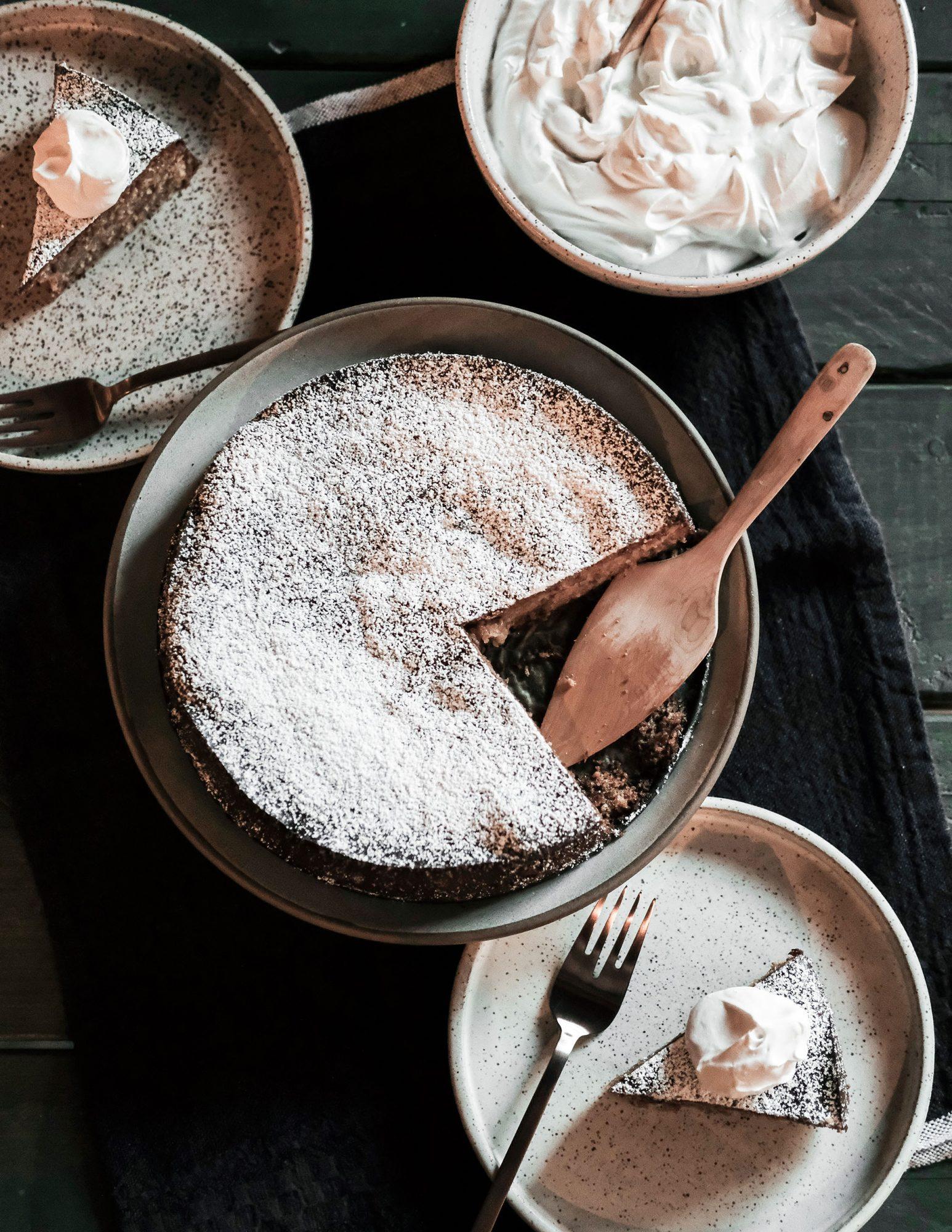 Toasted Hazelnut and Honey Torte