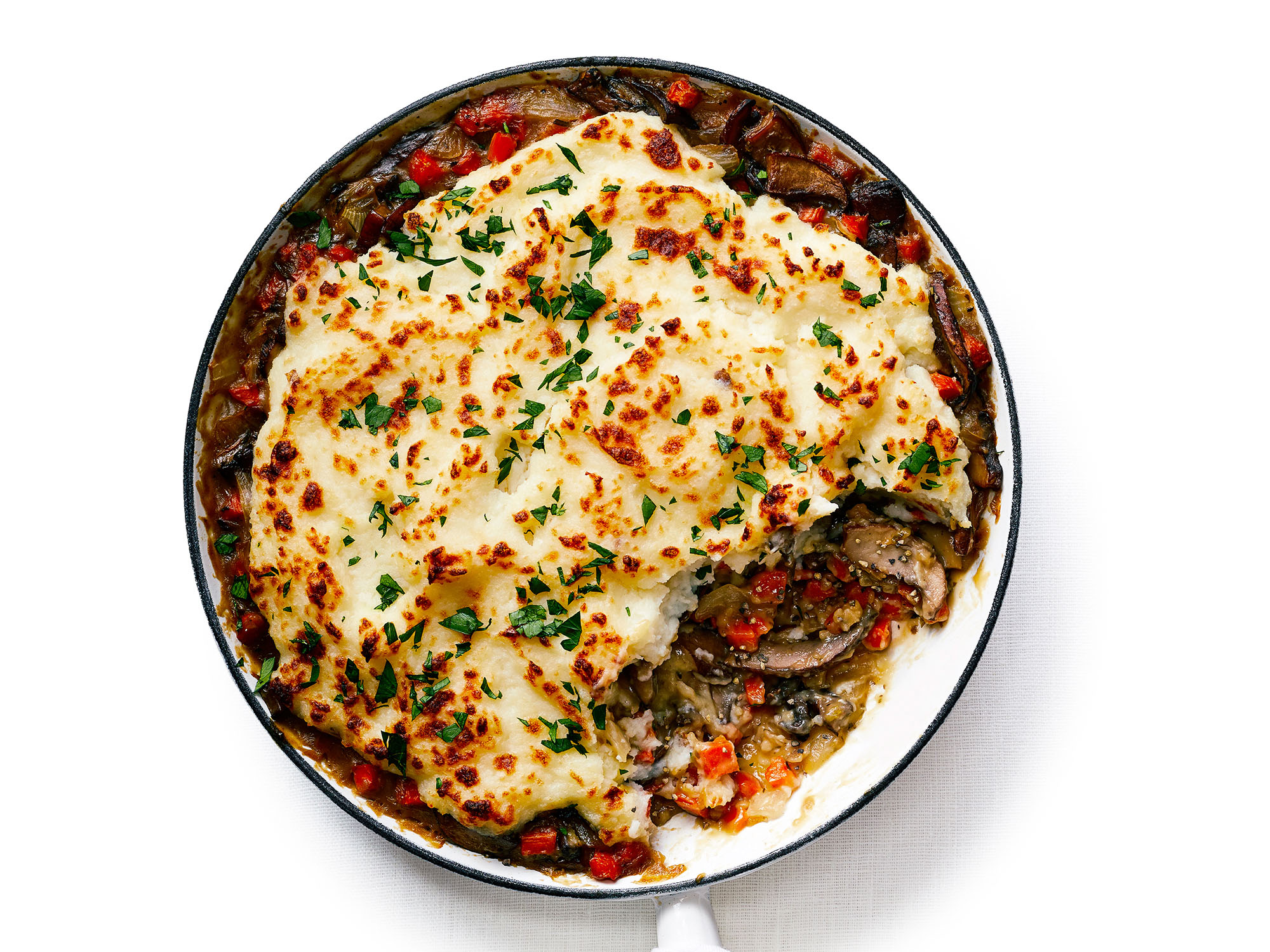 One-Pan Portabella Mushroom Shepherd's Pie