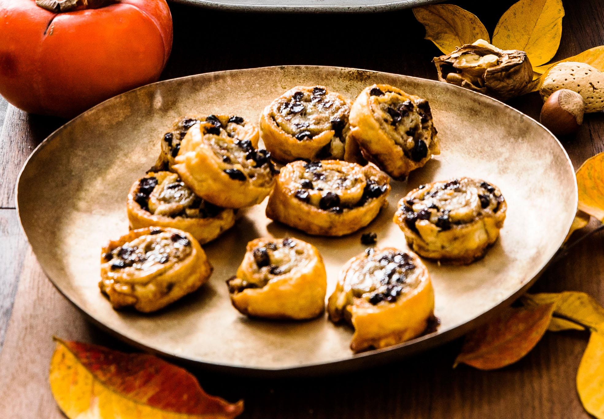 Pie-Crust Currant Cookies