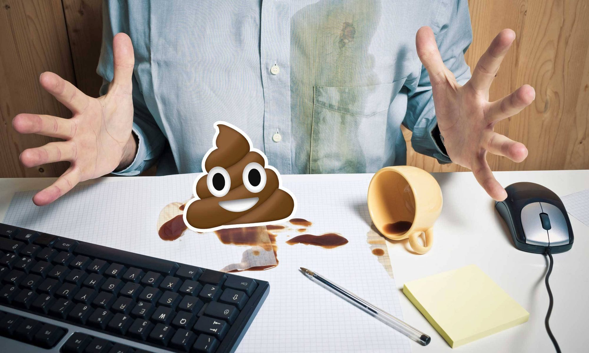 EC: Your Office Coffee Mug Is Probably Coated in Fecal Matter and That's OK