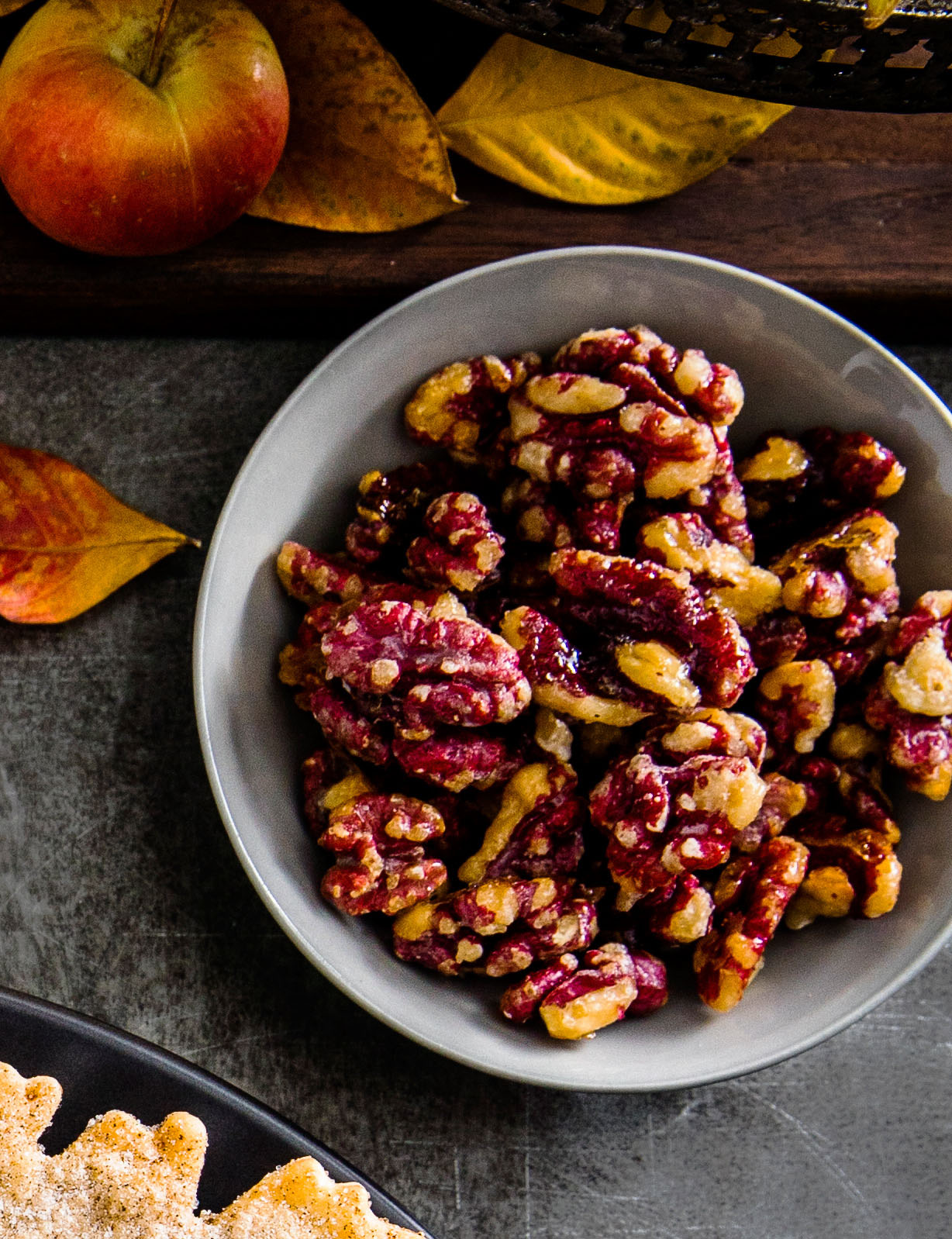 Shiny Candied Nuts