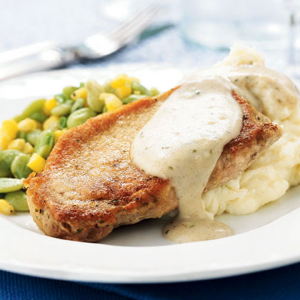 Rotisserie pork chops recipes