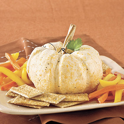 The Great White Pumpkin Cheese BallRecipe