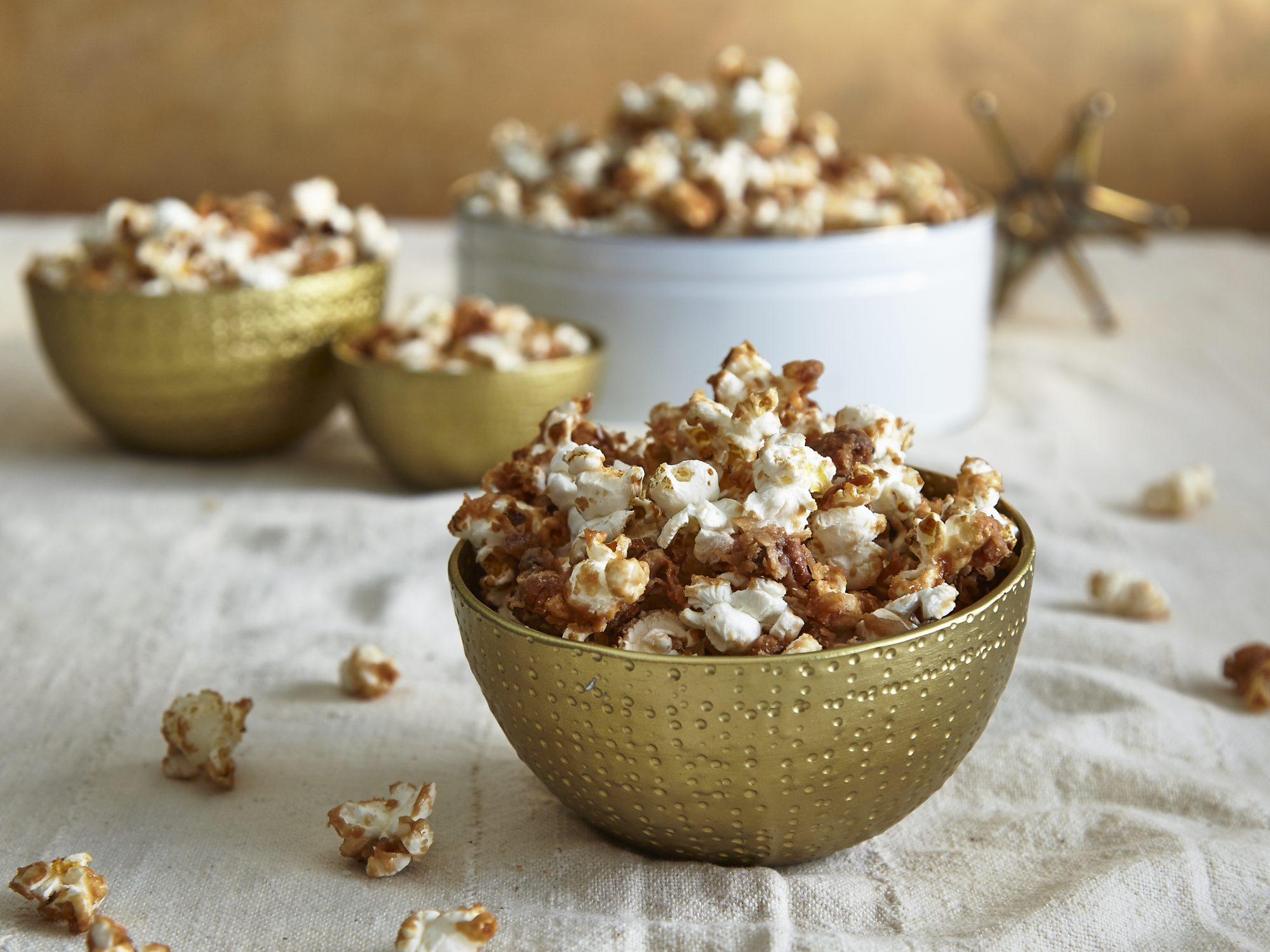 coconut-pecan-caramel-popcorn