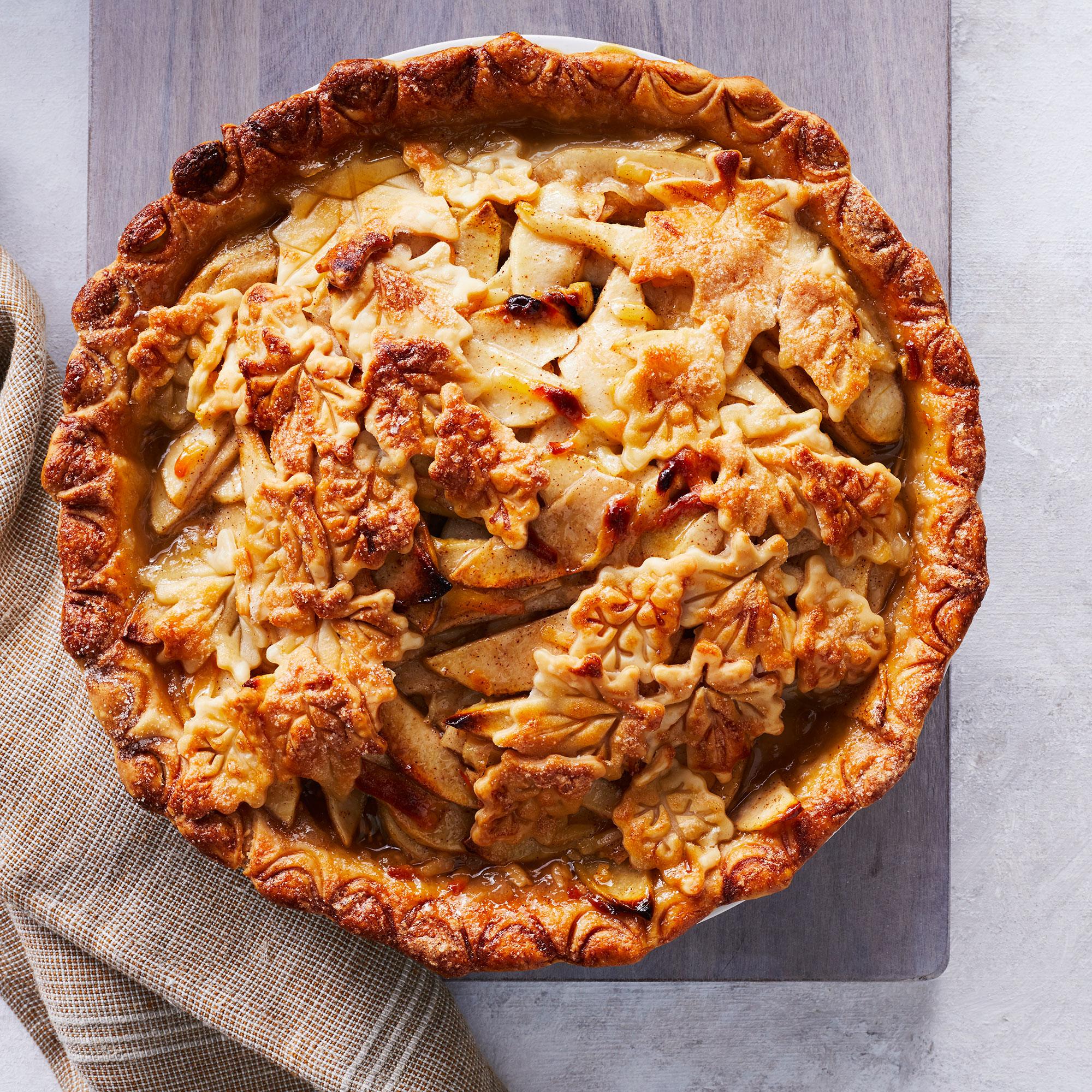 <p>Cheddar Apple-Pear Pie</p>