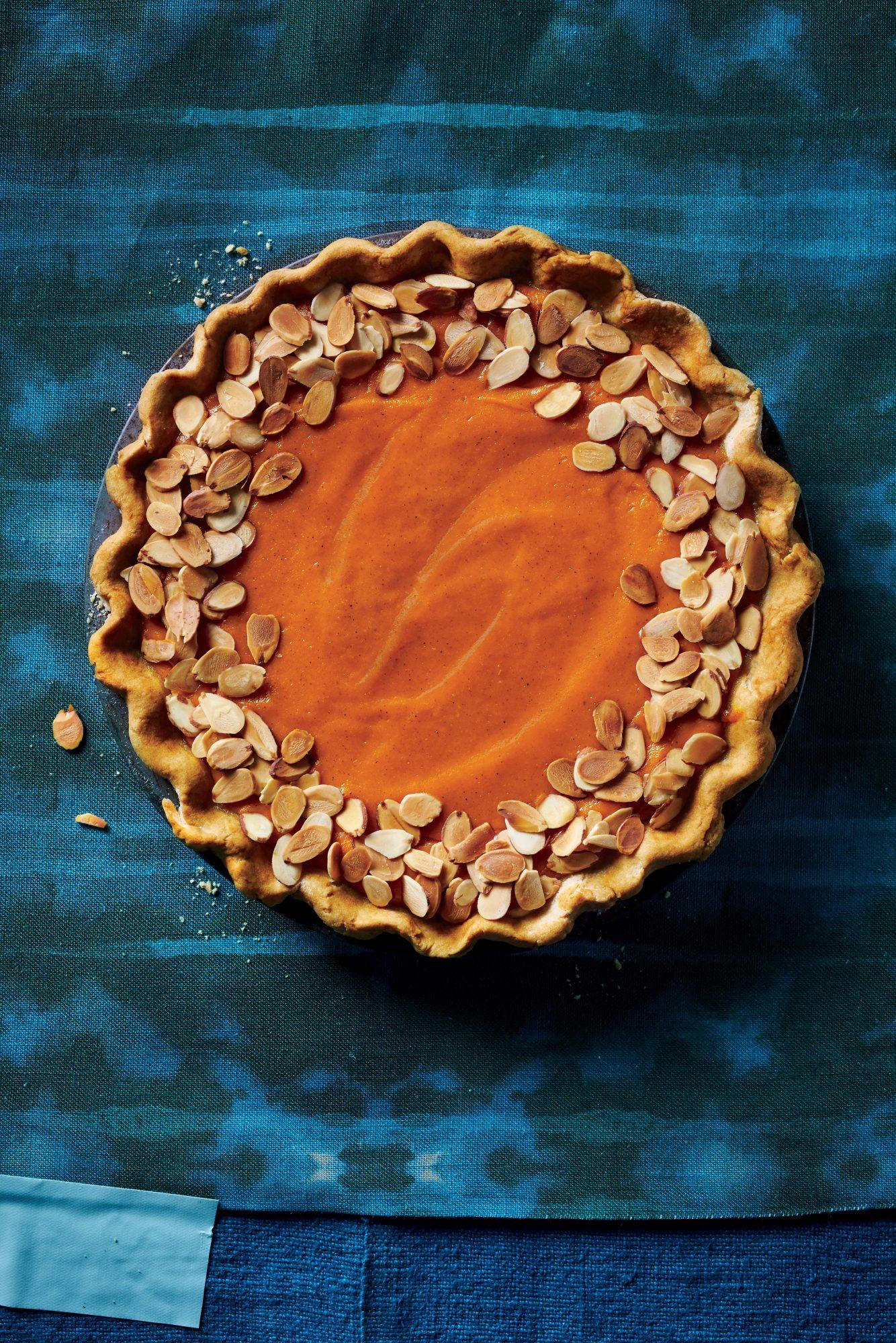 Chai Carrot Pie