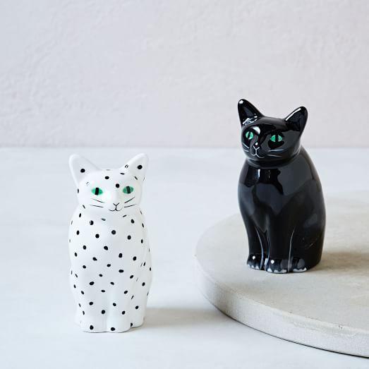 Cat Salt and Pepper Shaker