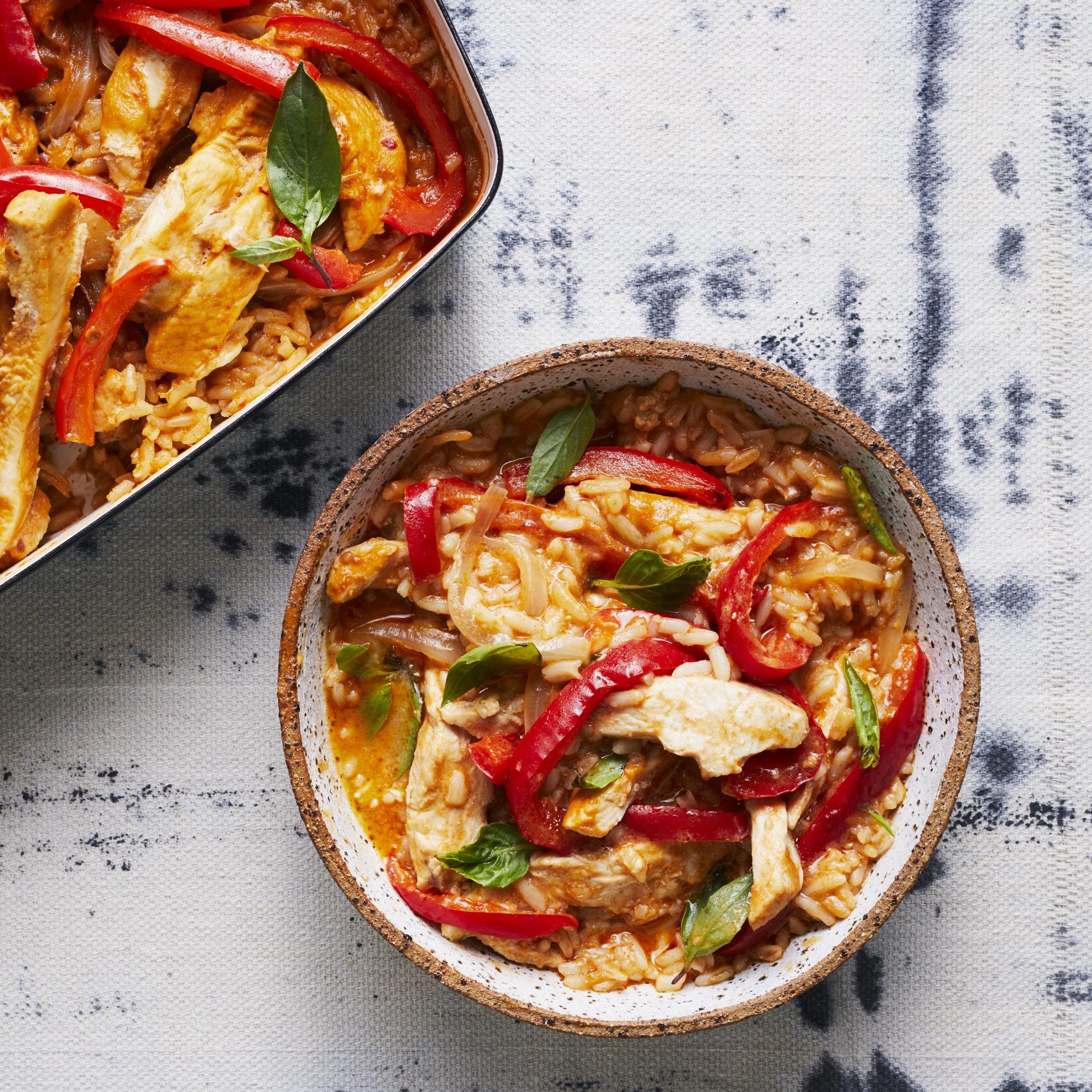 Chicken Panang Casserole