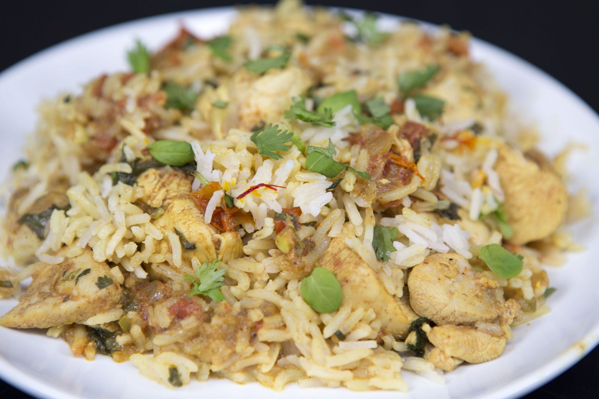 Easy chicken biryani recipe myrecipes for Chicken biryani at home