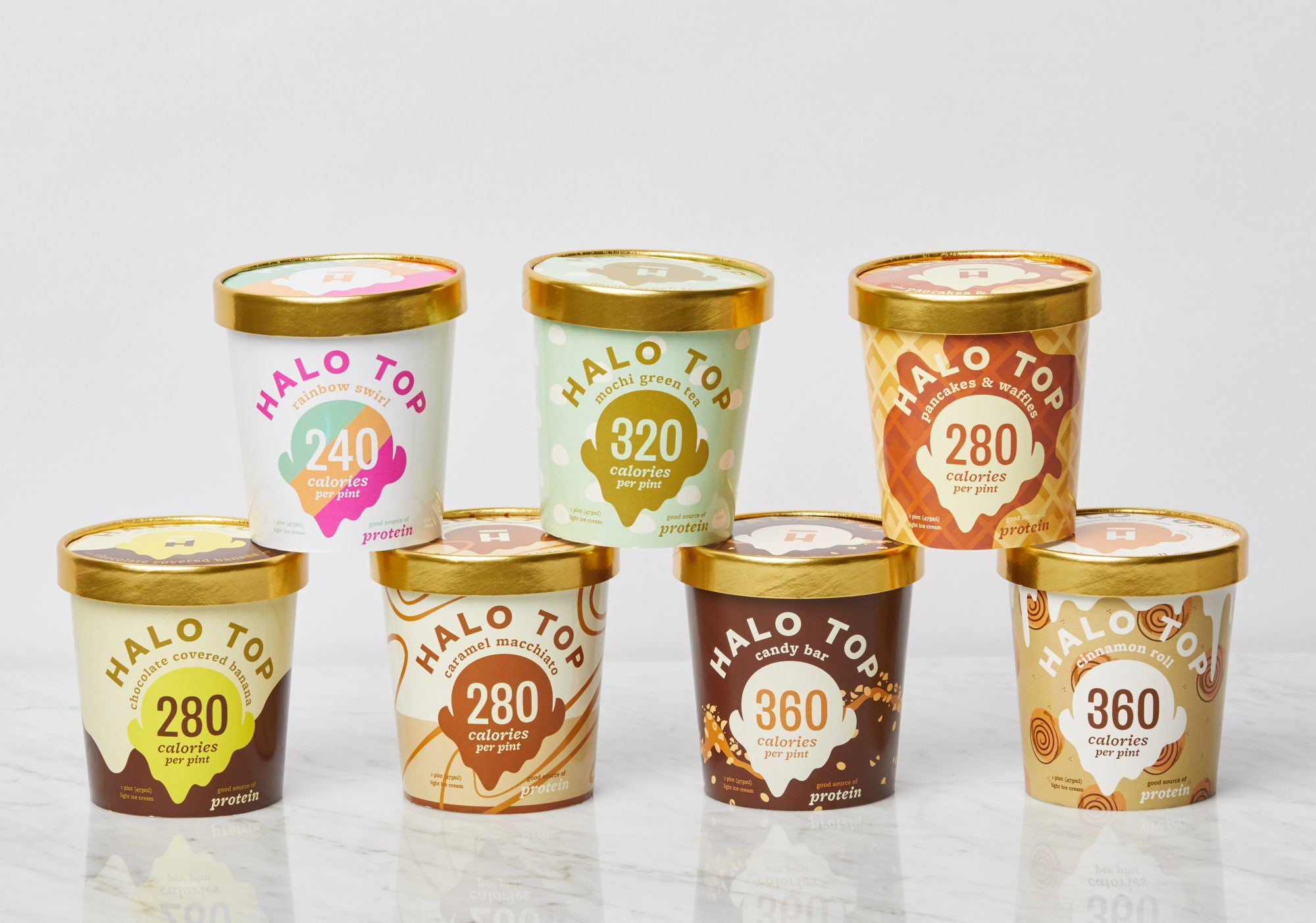 Halo Top Debuts 7 New Flavors Including Pancakes & Waffles
