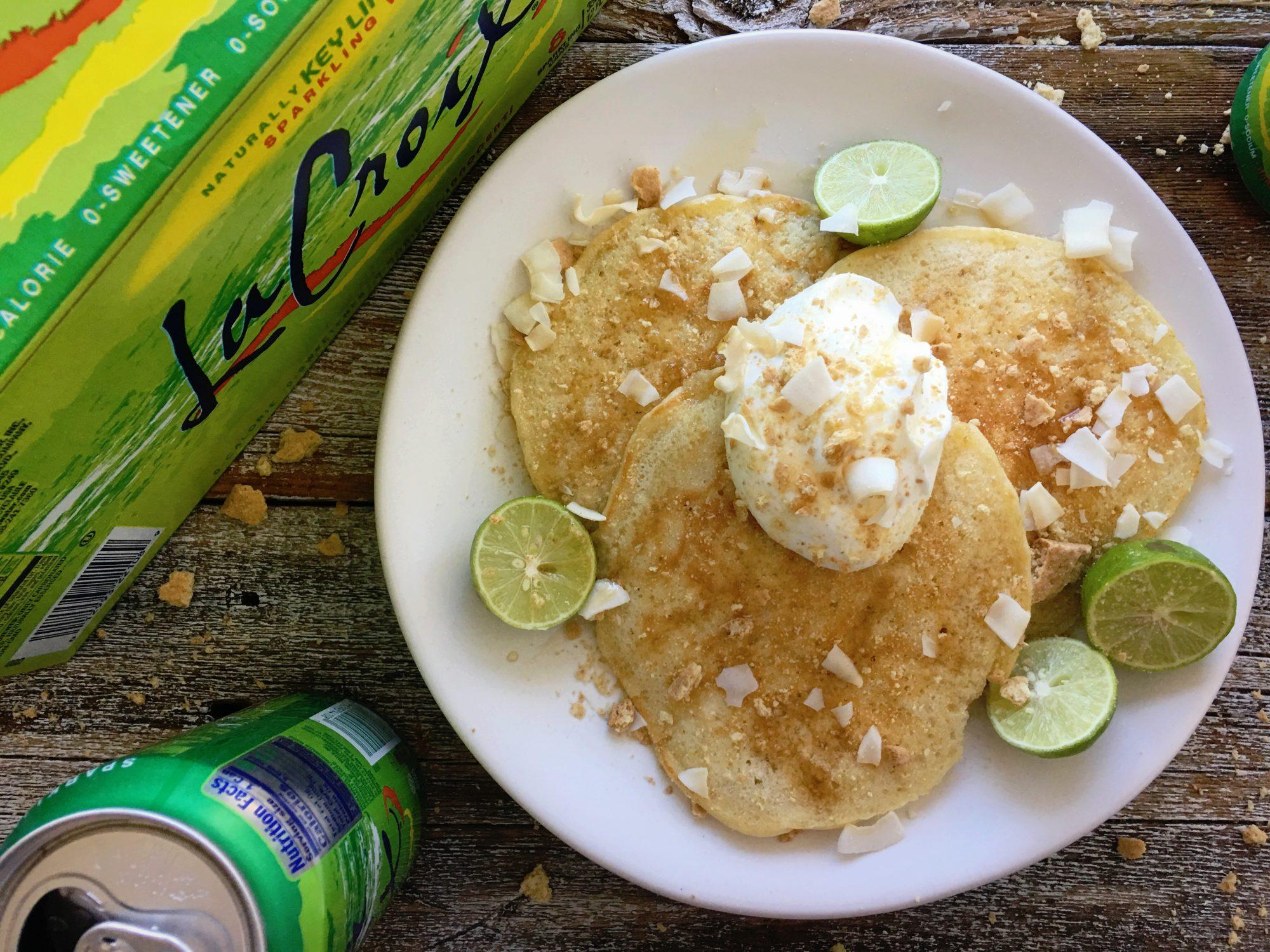 Key Lime La Croix Pancakes
