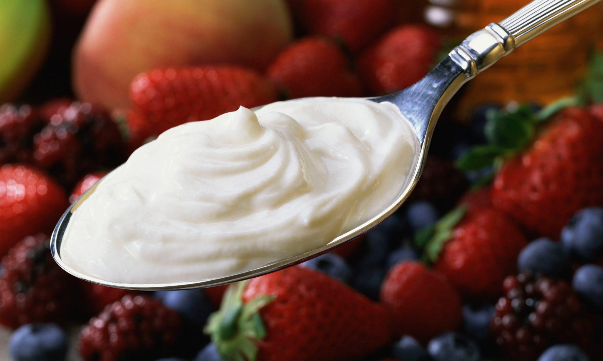 spoon full of cream