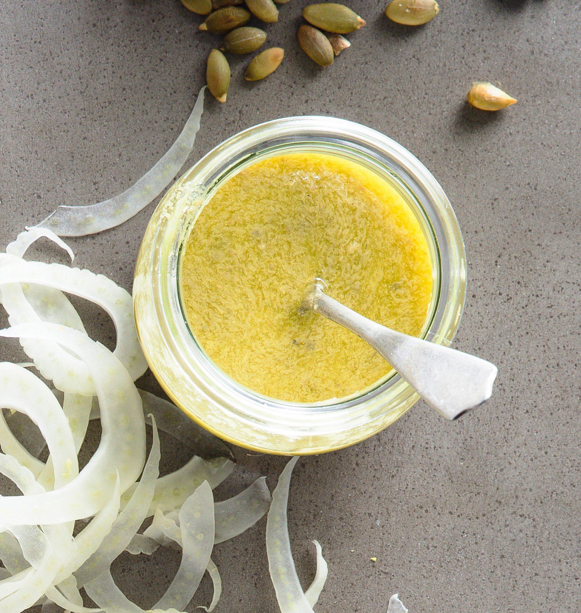 Creamy Avocado Caper Dressing