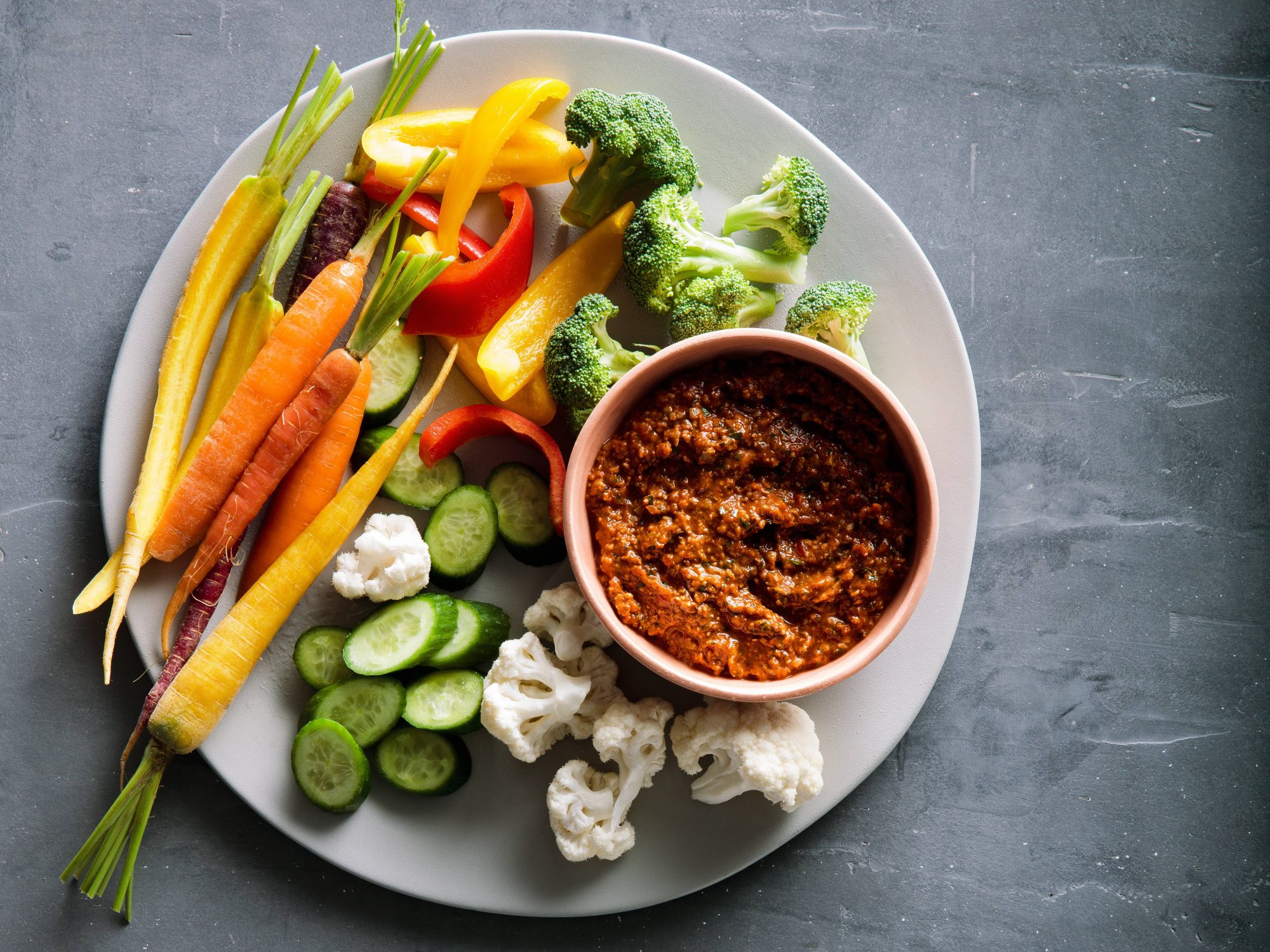 Sunflower Seed Romesco Sauce