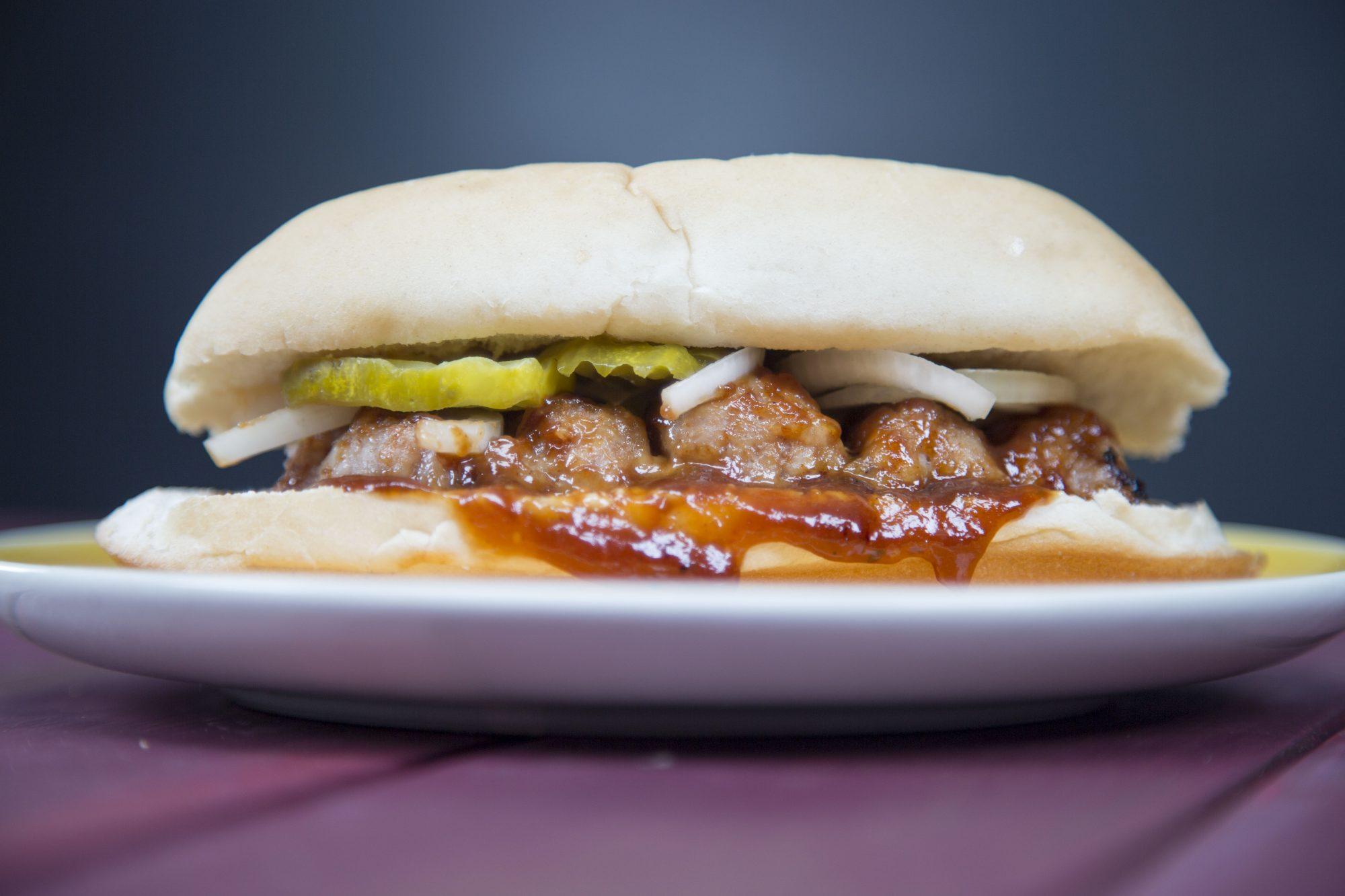 Copycat McRib Sandwich image