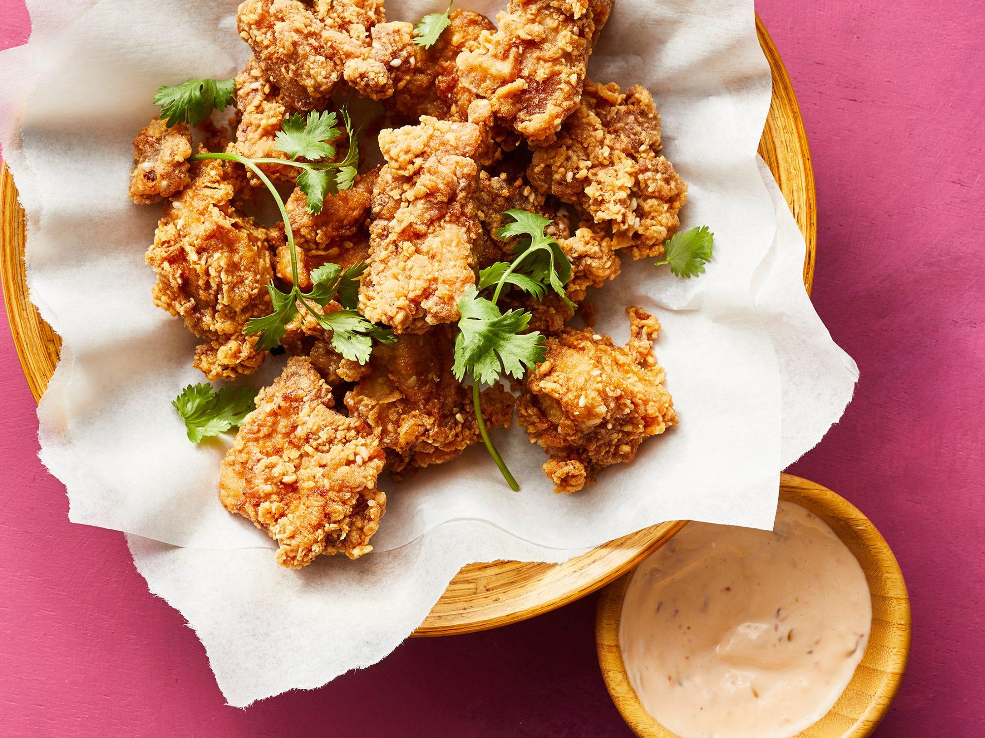 Shoyu Fried Chicken with Mochiko Batter