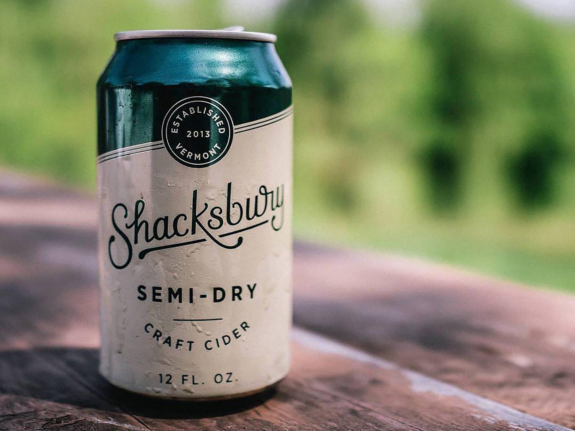 Shacksbury Semi-Dry Cider