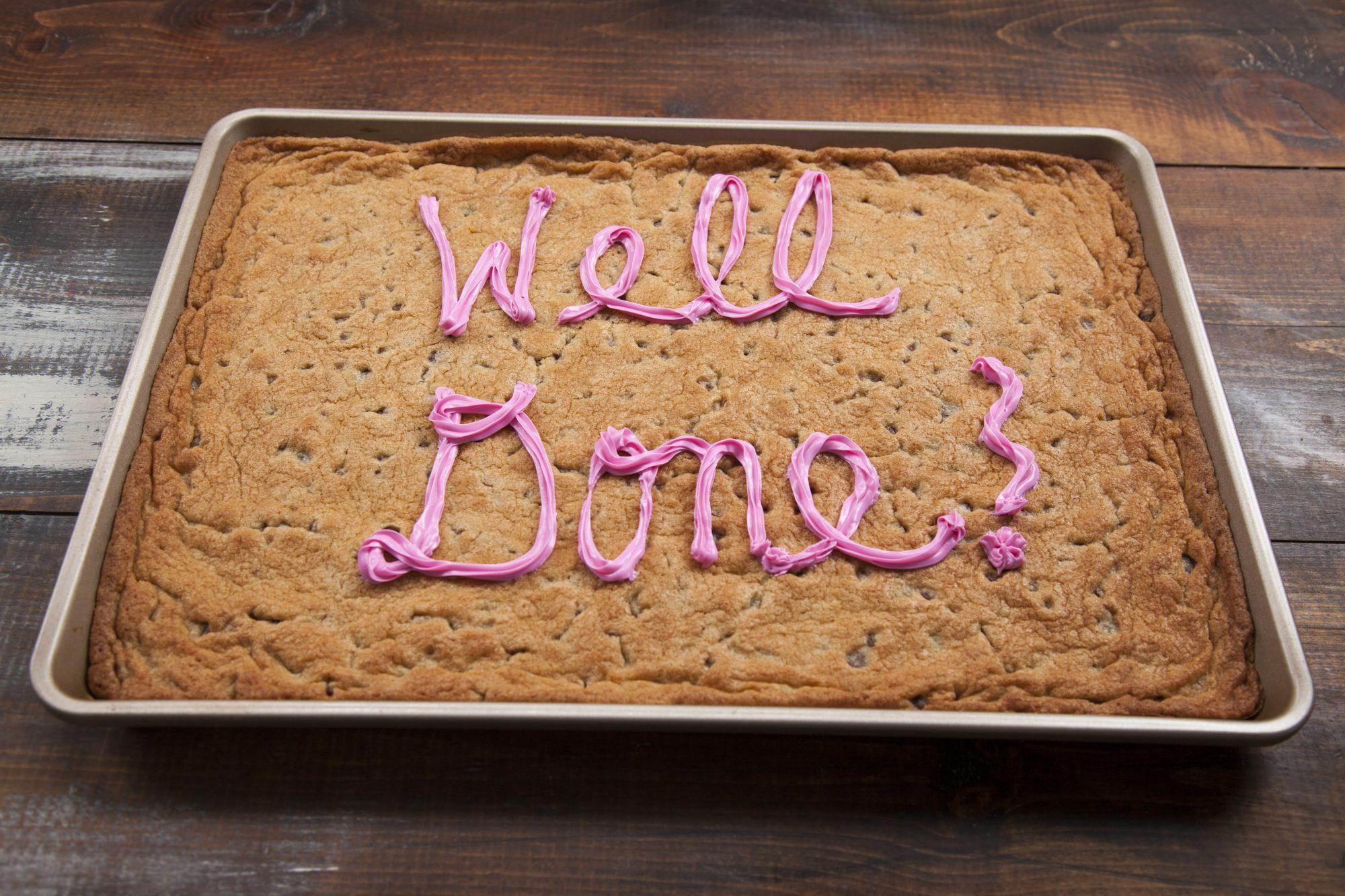 Sheet Pan Cookie Cake Recipe