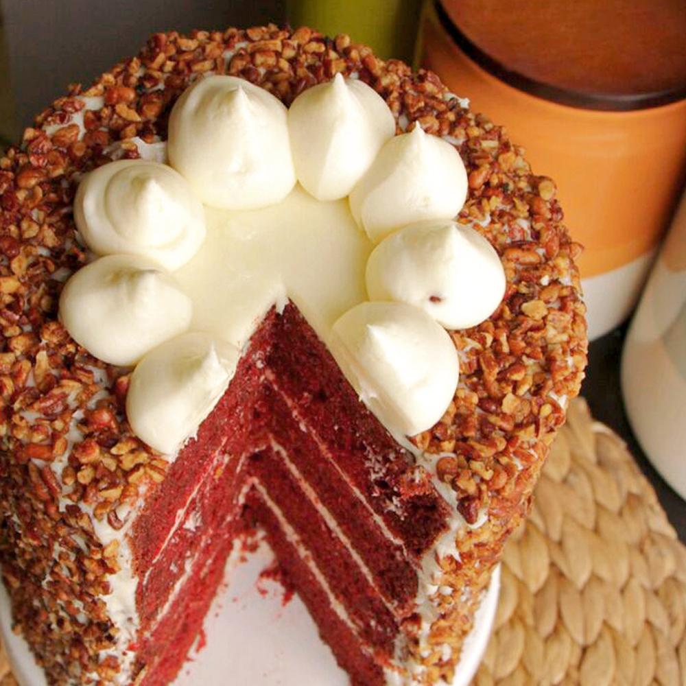 Easy Red Velvet Cake from a Box