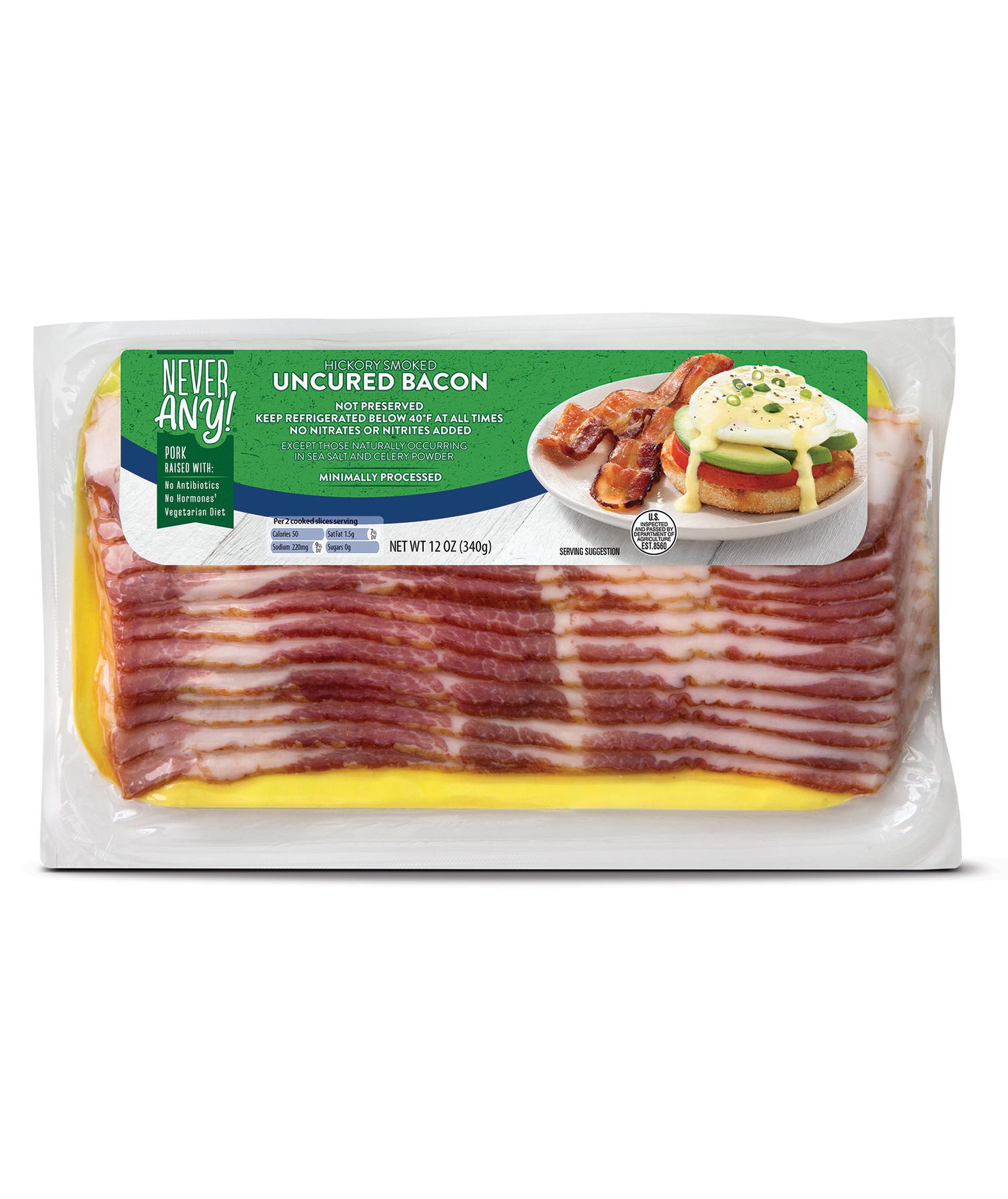Appleton Farms Never Any! Hickory Bacon