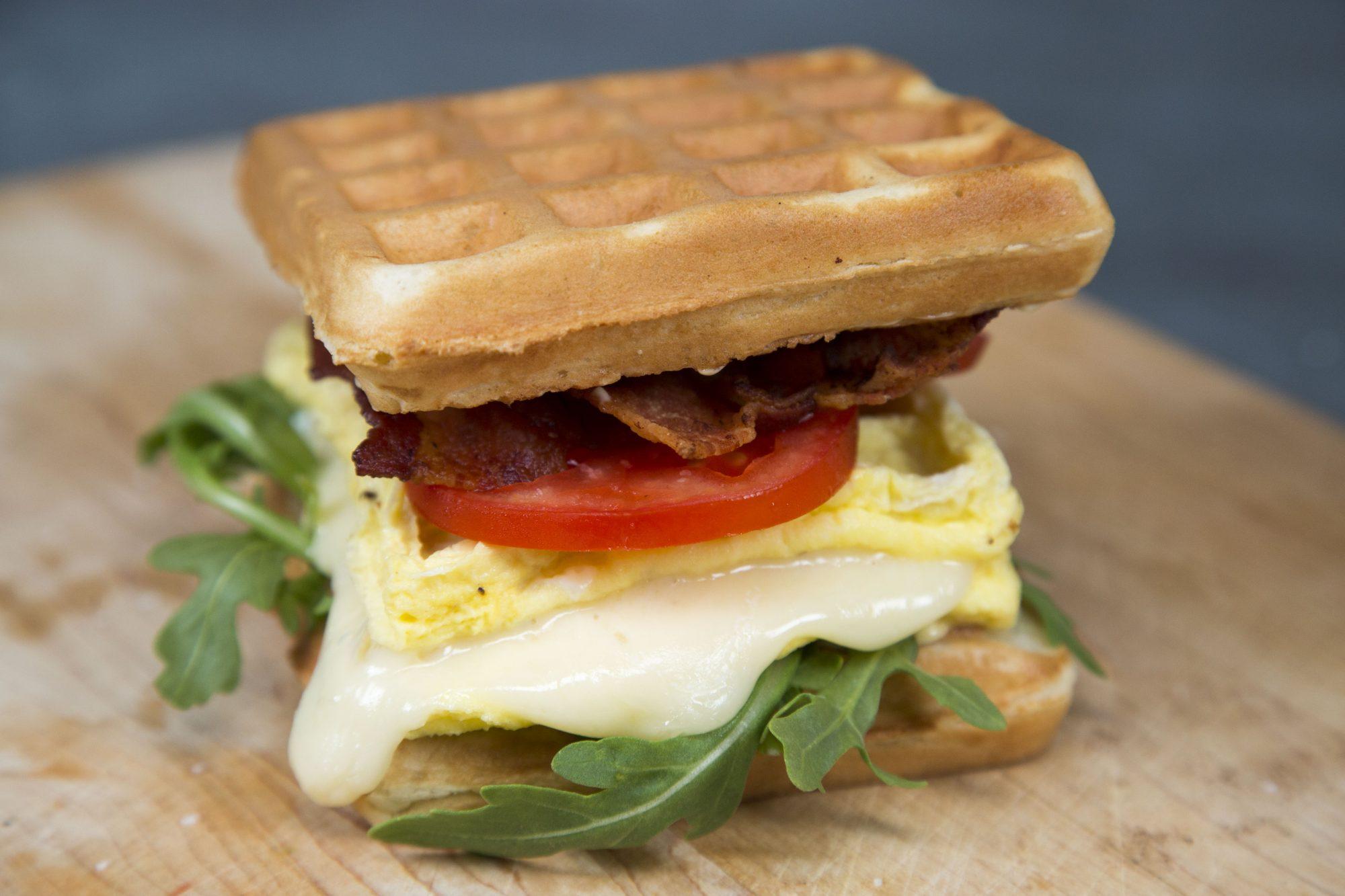 Ultimate Breakfast Wafflewich image