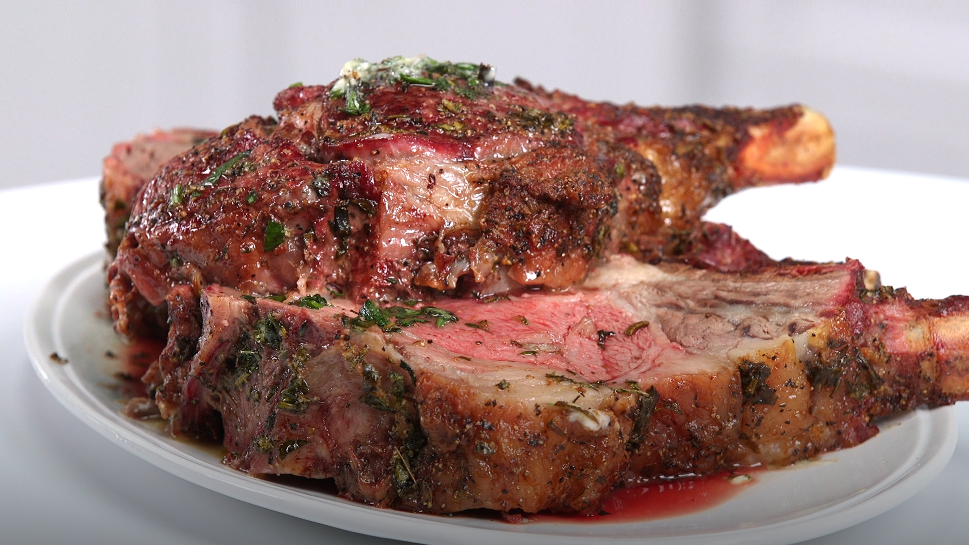 Chef Ray Lampe's Herbed Up Prime Rib
