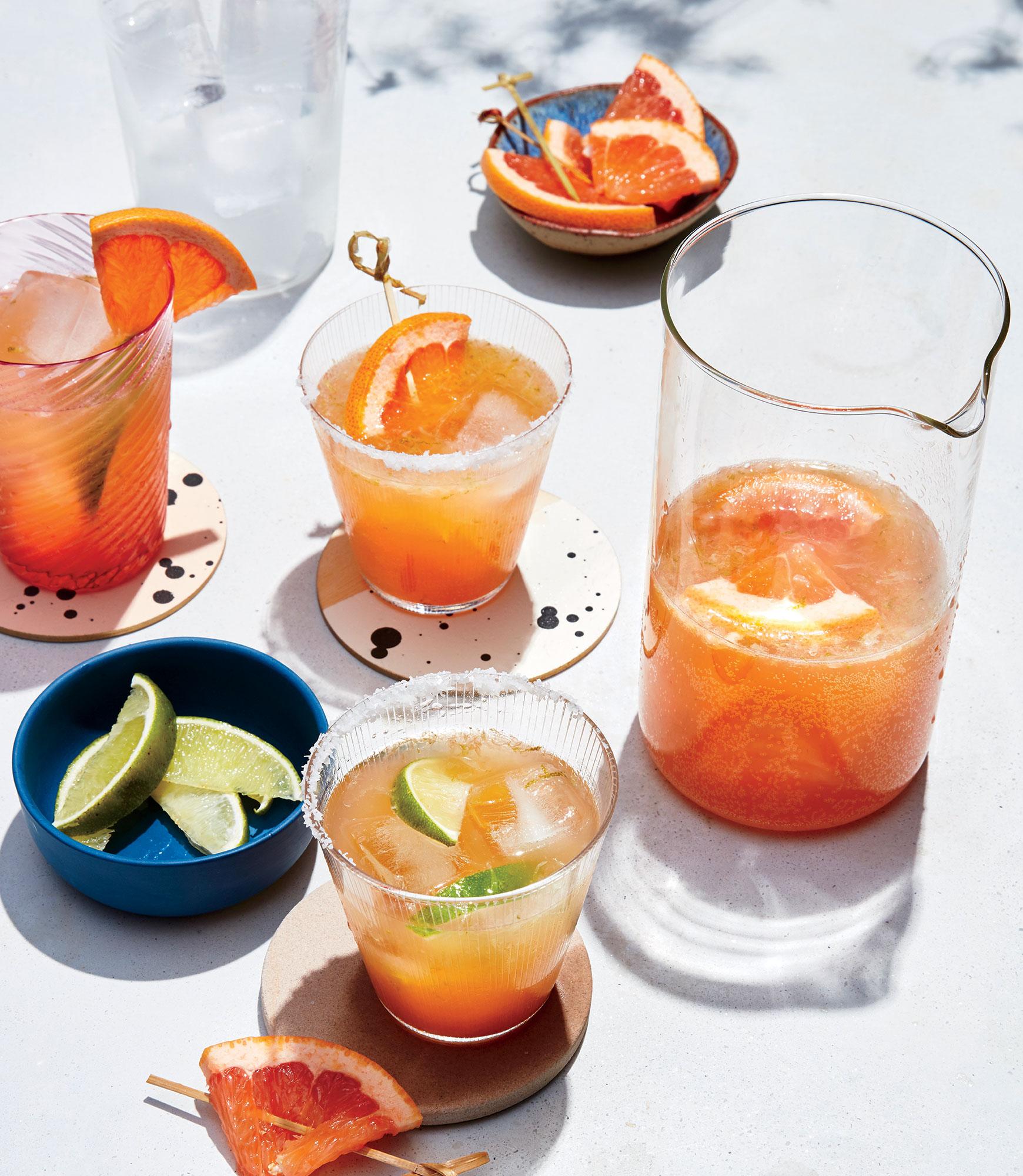 <p>Grapefruit Beergaritas</p>