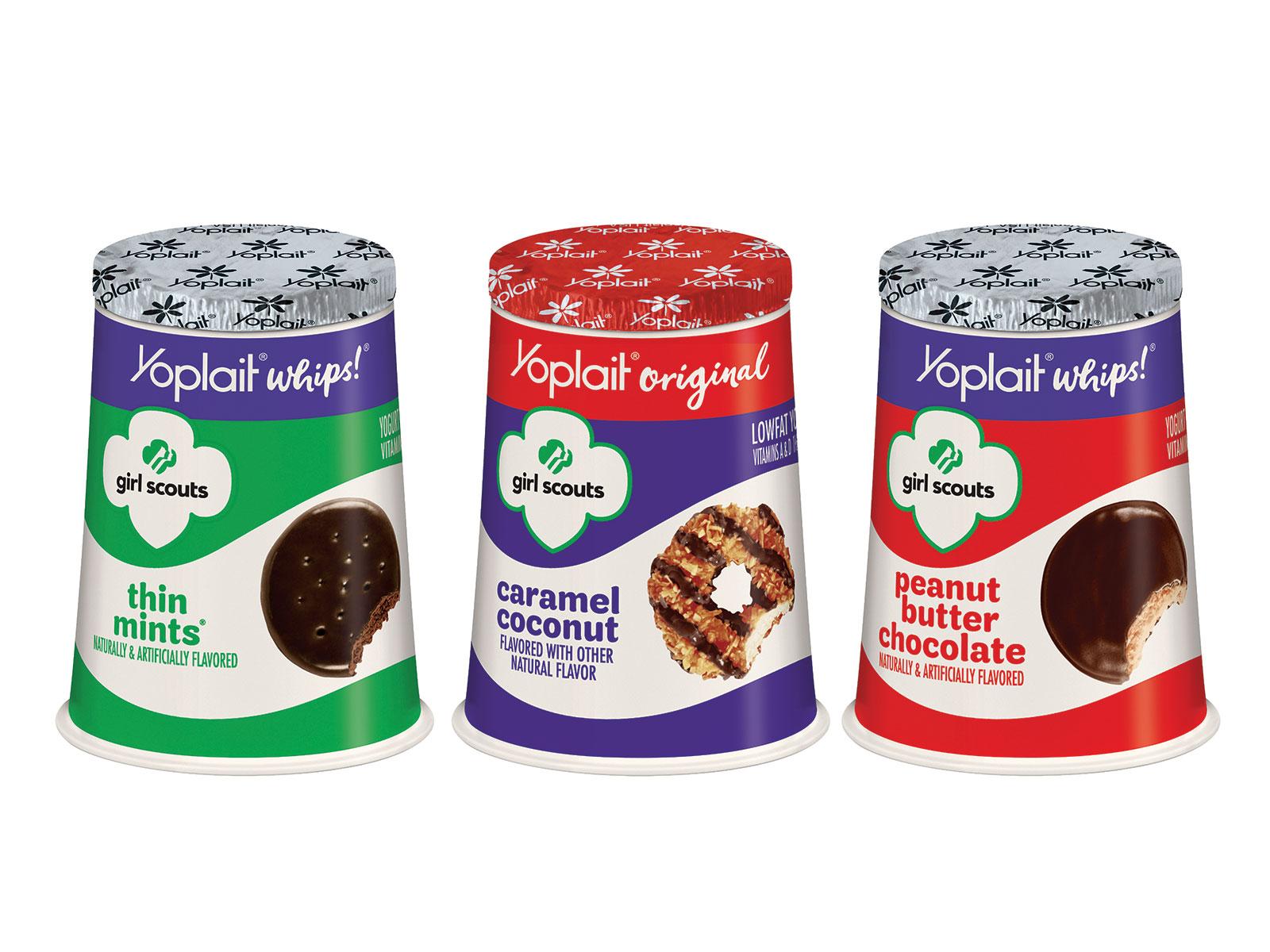 yoplait girl scout cookie flavor
