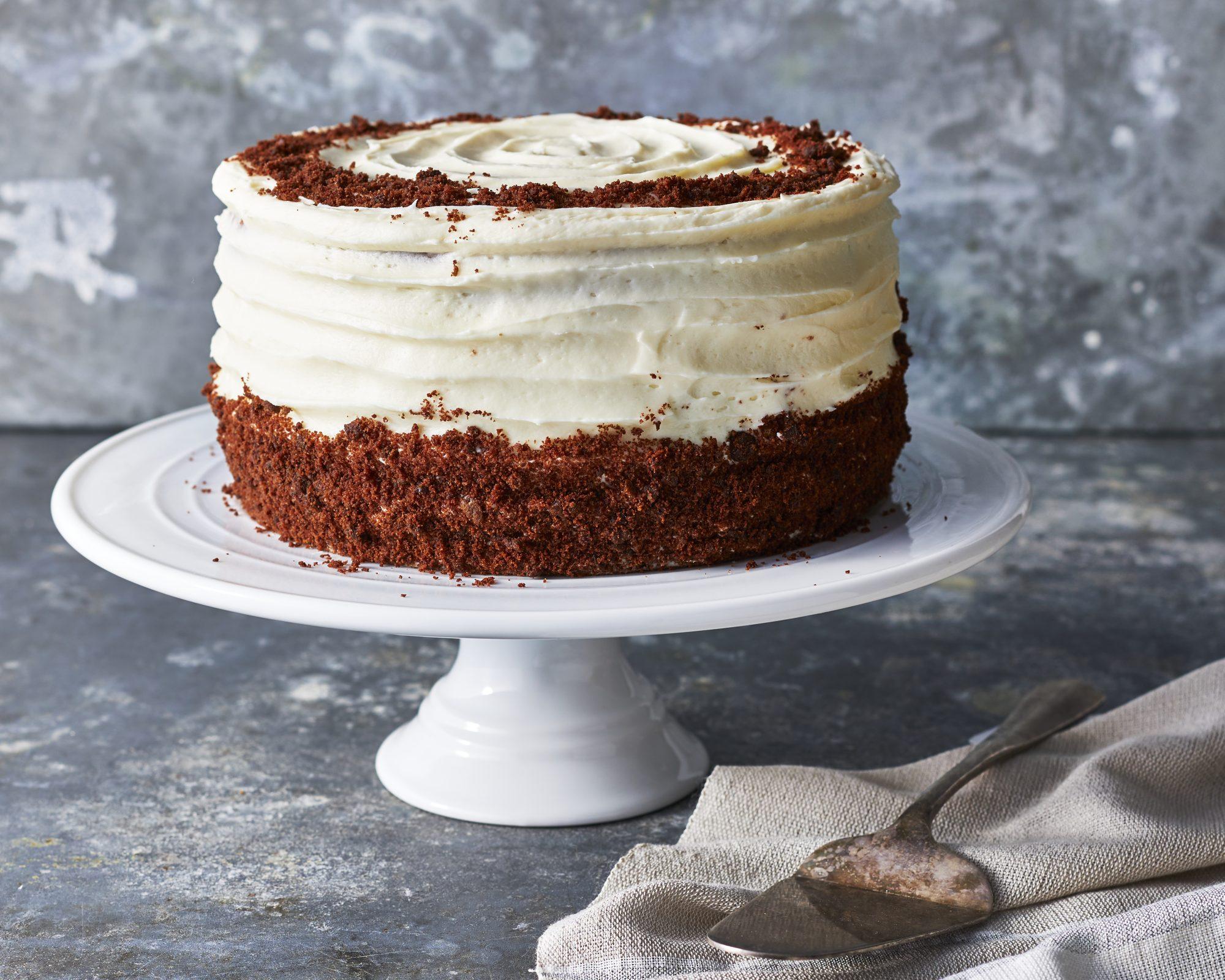 Brown Velvet Cake image