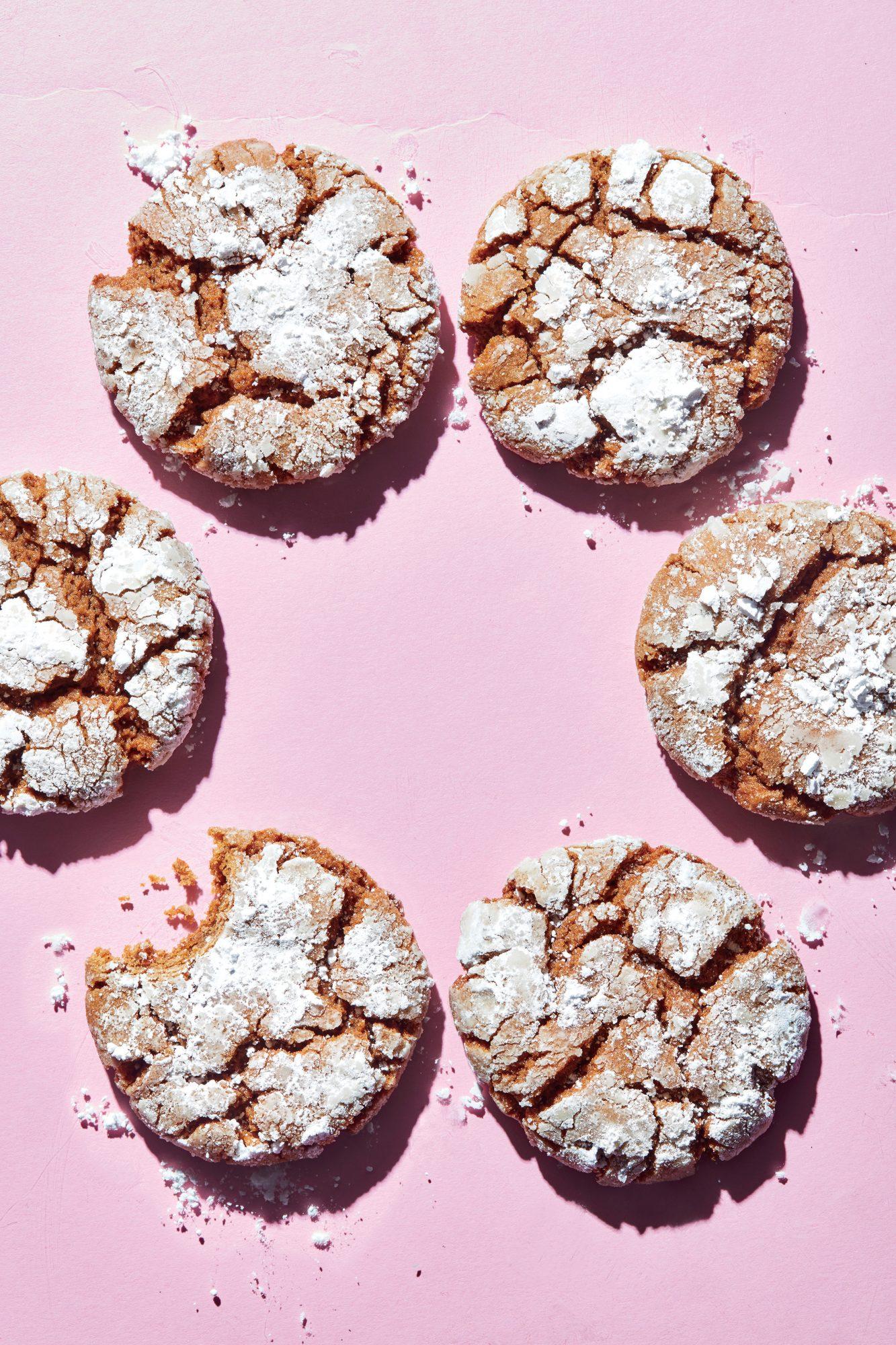 Molasses Crinkle Cookies Recipe Cooking Light