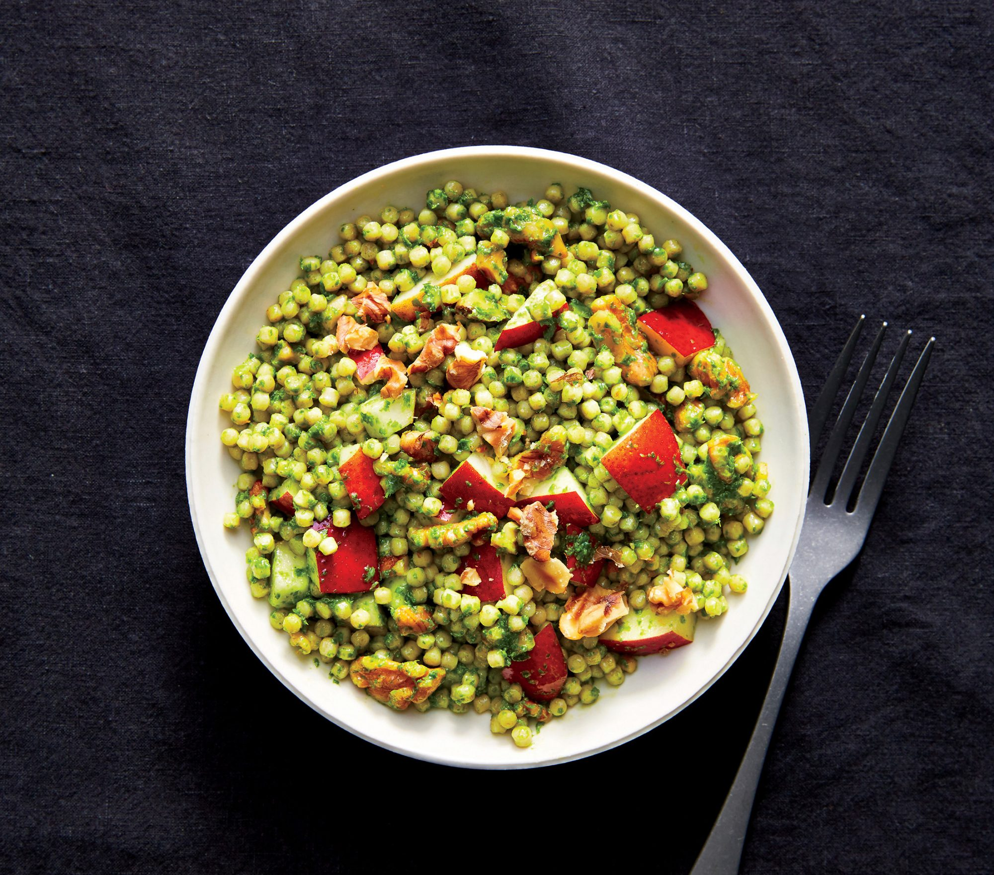 Pear-and-Pesto Couscous