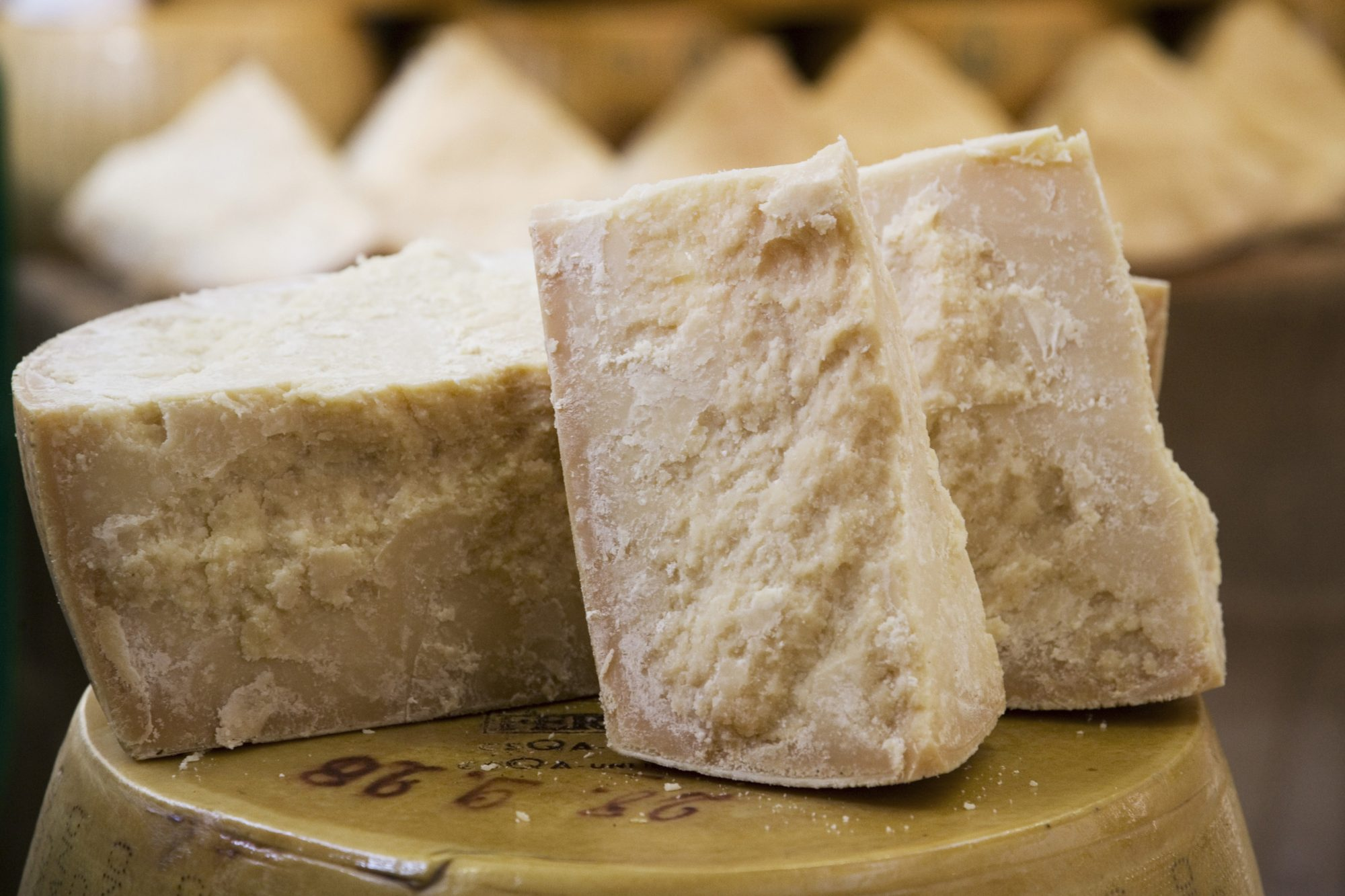What's the Difference Between Parmesan, Parmigiano-Reggiano, and Pecorino Romano?