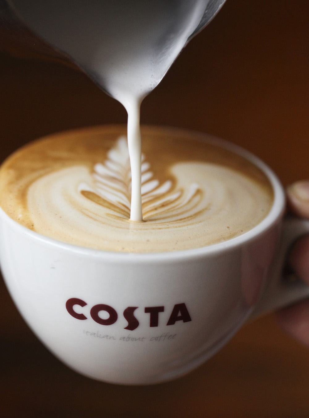 Costa Coffee Offers Free 'Babyccinos' to Lure in Families