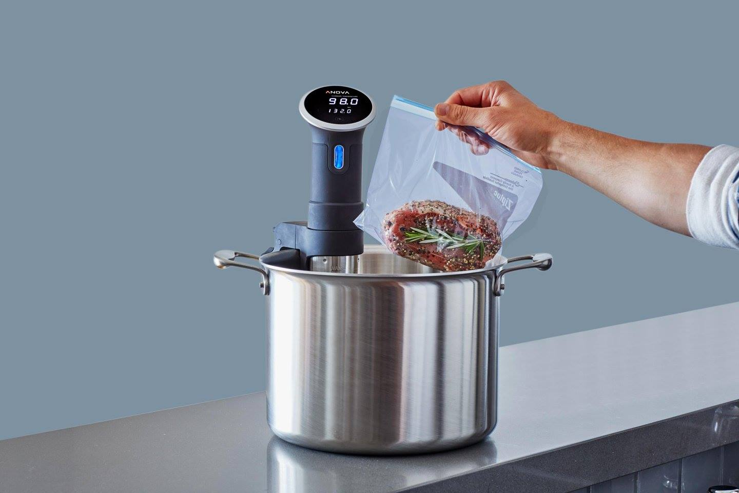 FOOD:  SOUS VIDE!  SO GOOD!! - cover
