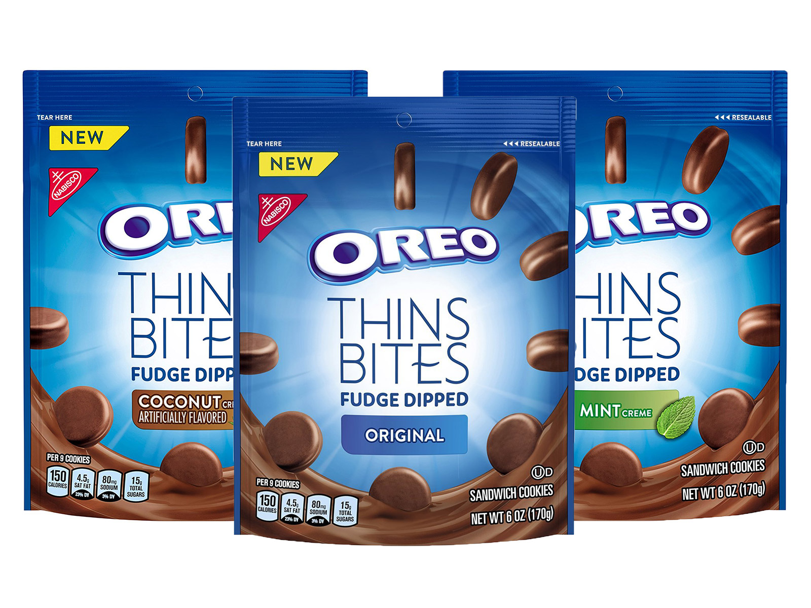 Oreo Adds Mini Fudge-Dipped Thins in Stores, Oreo Bites at Arby's