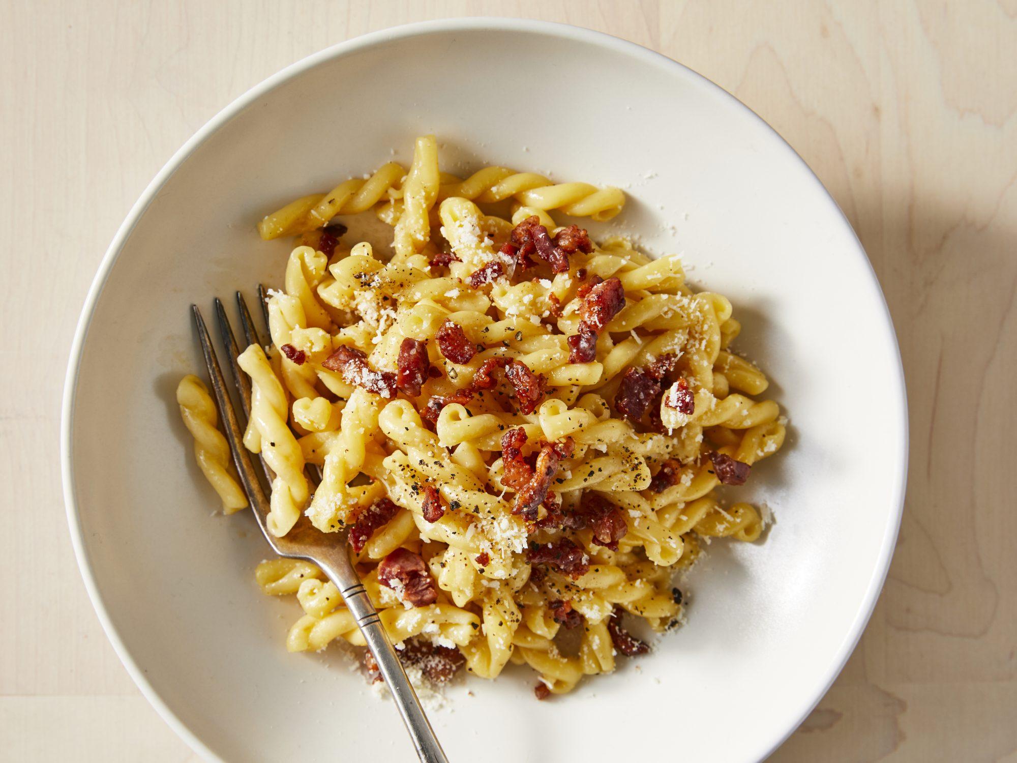 """<p><span lang=""""EN""""><span><span>Classic Pasta Carbonara</span></span></span></p>"""