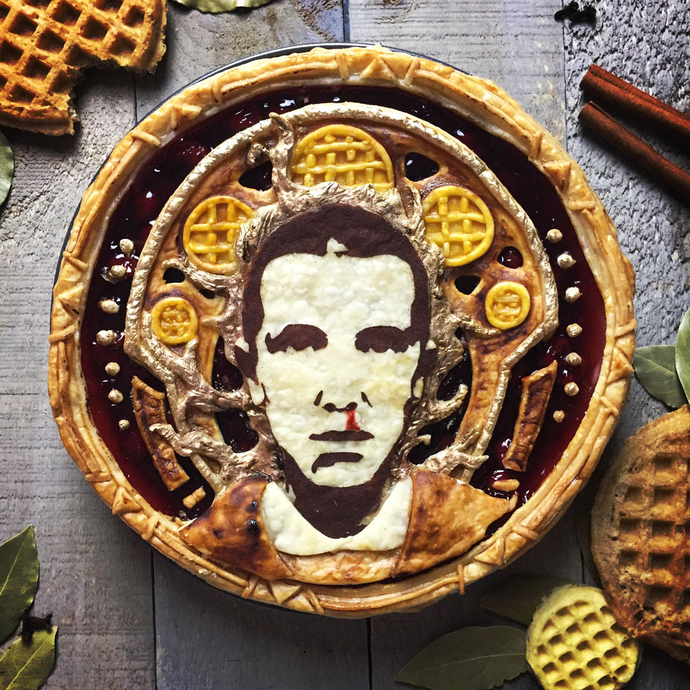 """We Can't Stop Looking at These Celebrity """"Pietraits"""" of Oprah, Eleven and David Bowie"""