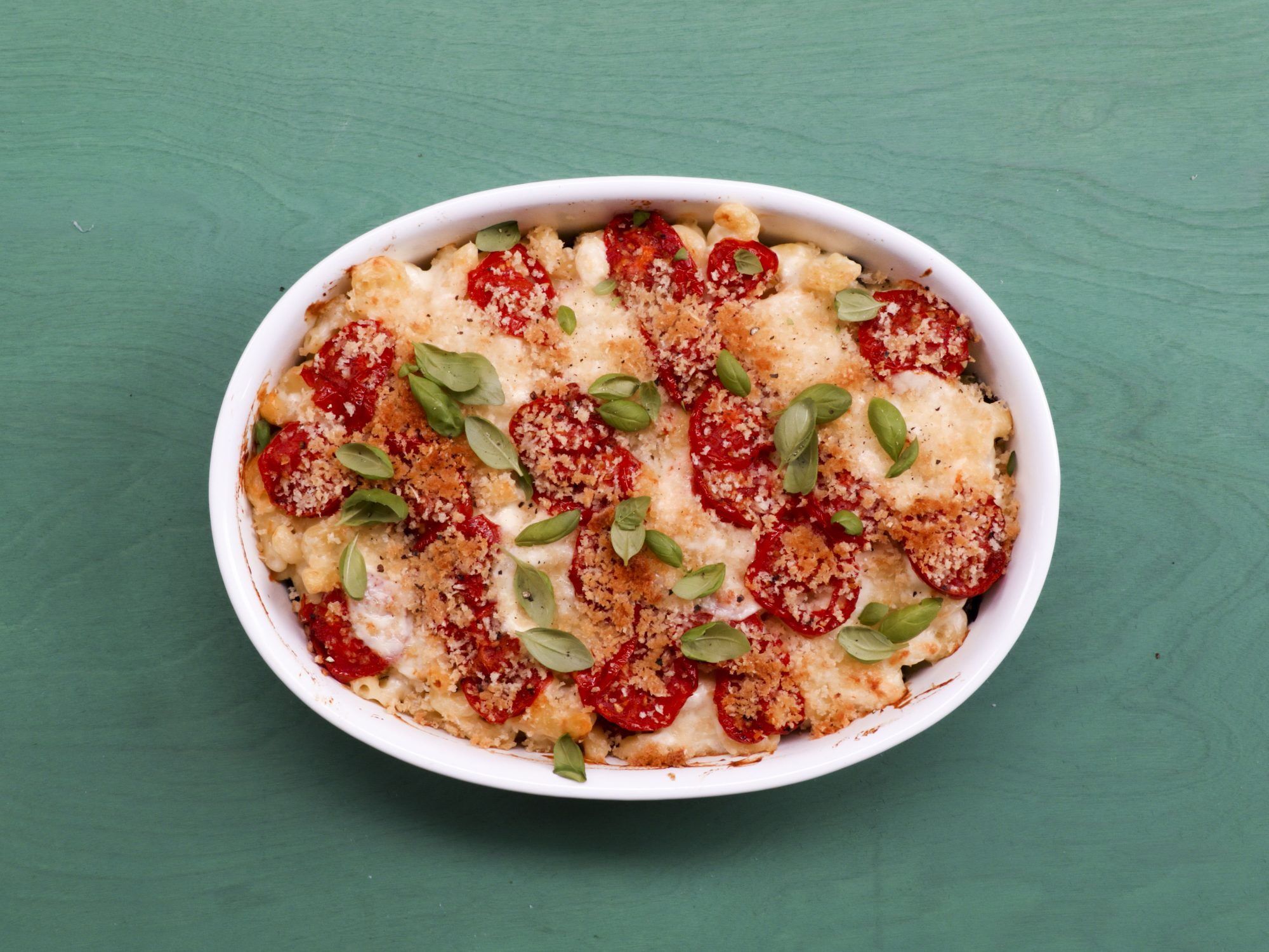 Caprese Mac and Cheese image