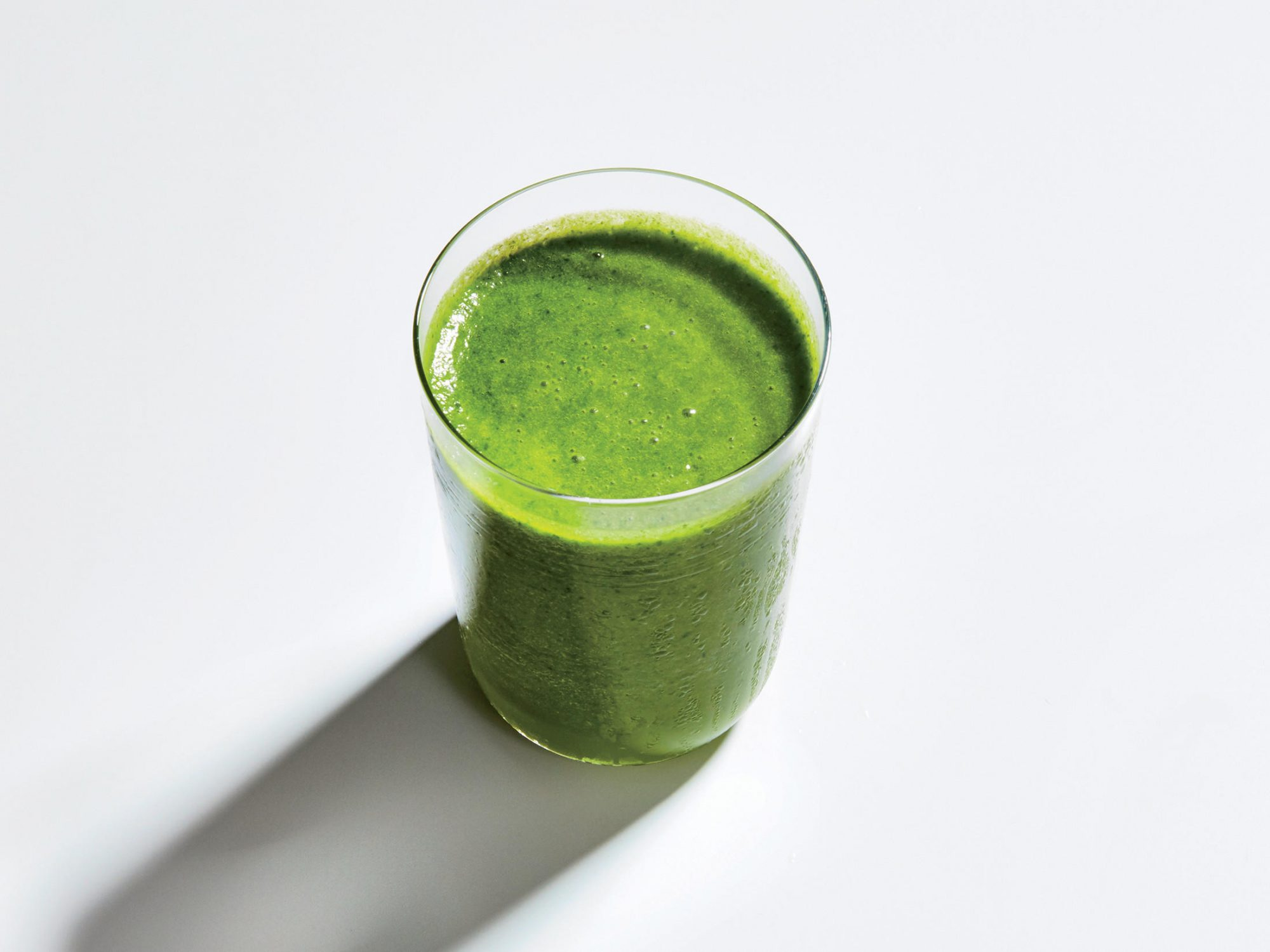 Supercharged Kale-Avocado Smoothie