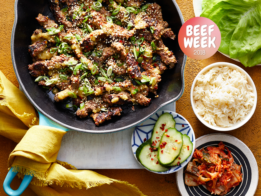 Beef Week Day 3: Cube Steak Bulgogi